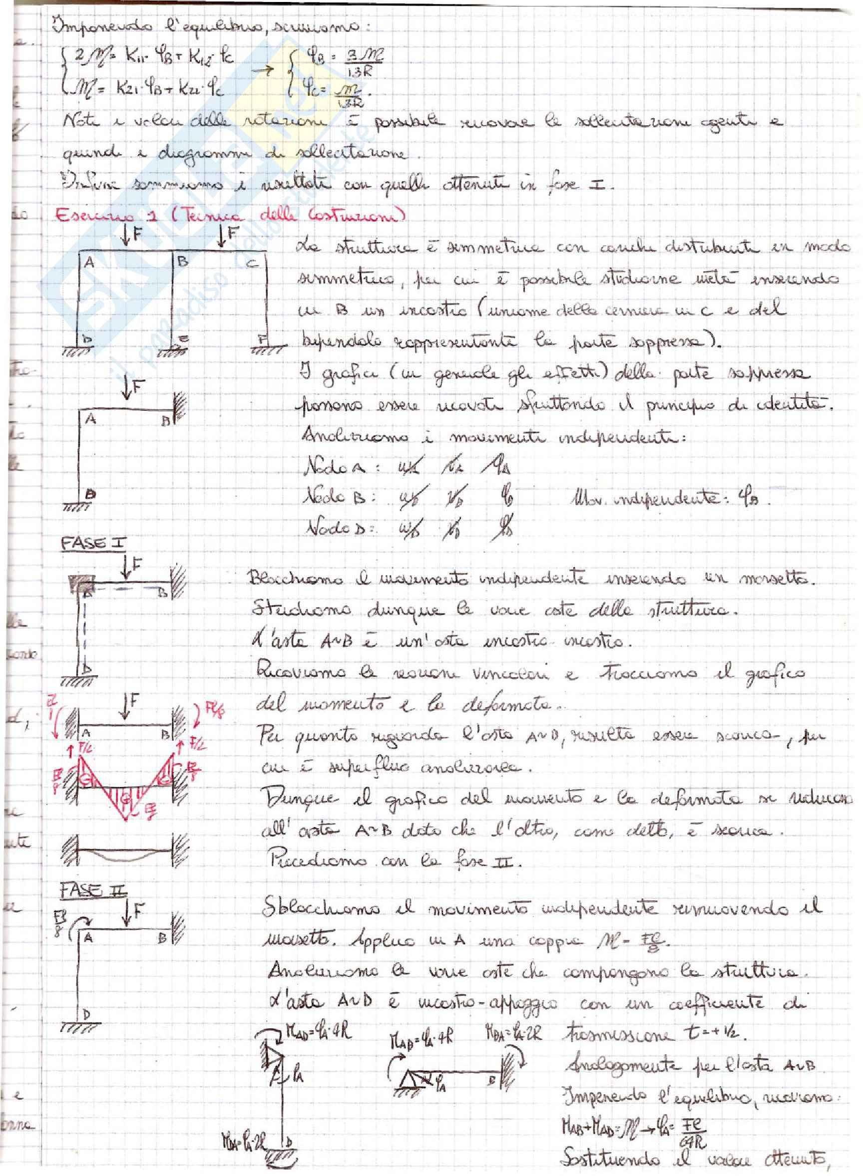 Tecnica delle Costruzioni - Esercizi Pag. 21