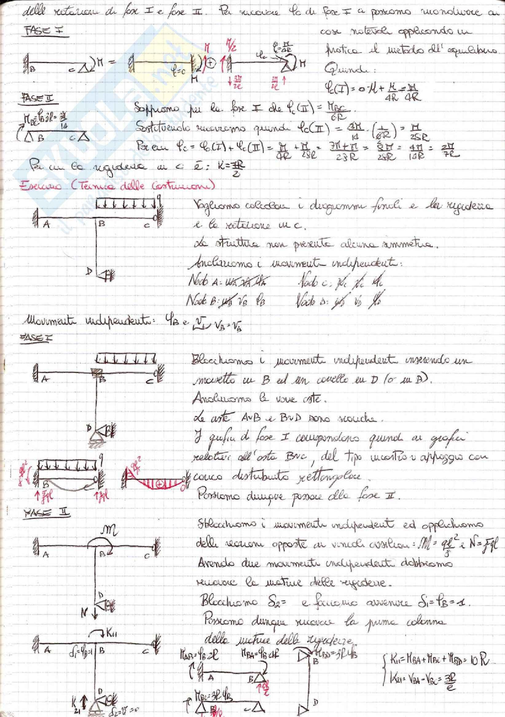 Tecnica delle Costruzioni - Esercizi Pag. 56