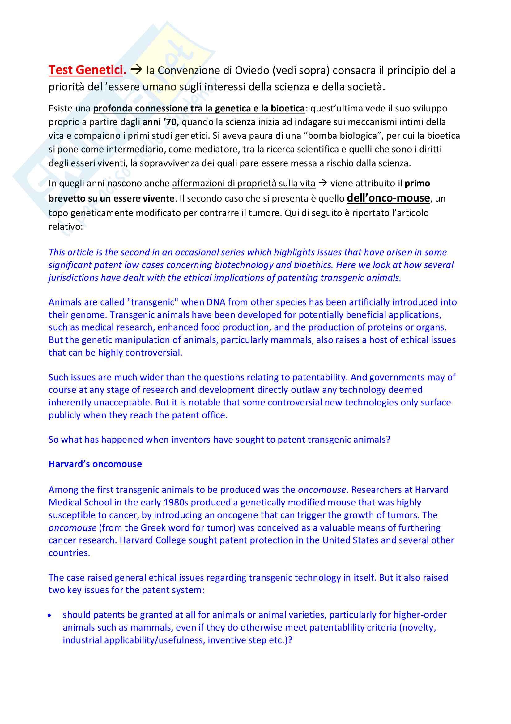 Bioetica 2 principi, applicazioni, sperimentazione animale, ivg, pma