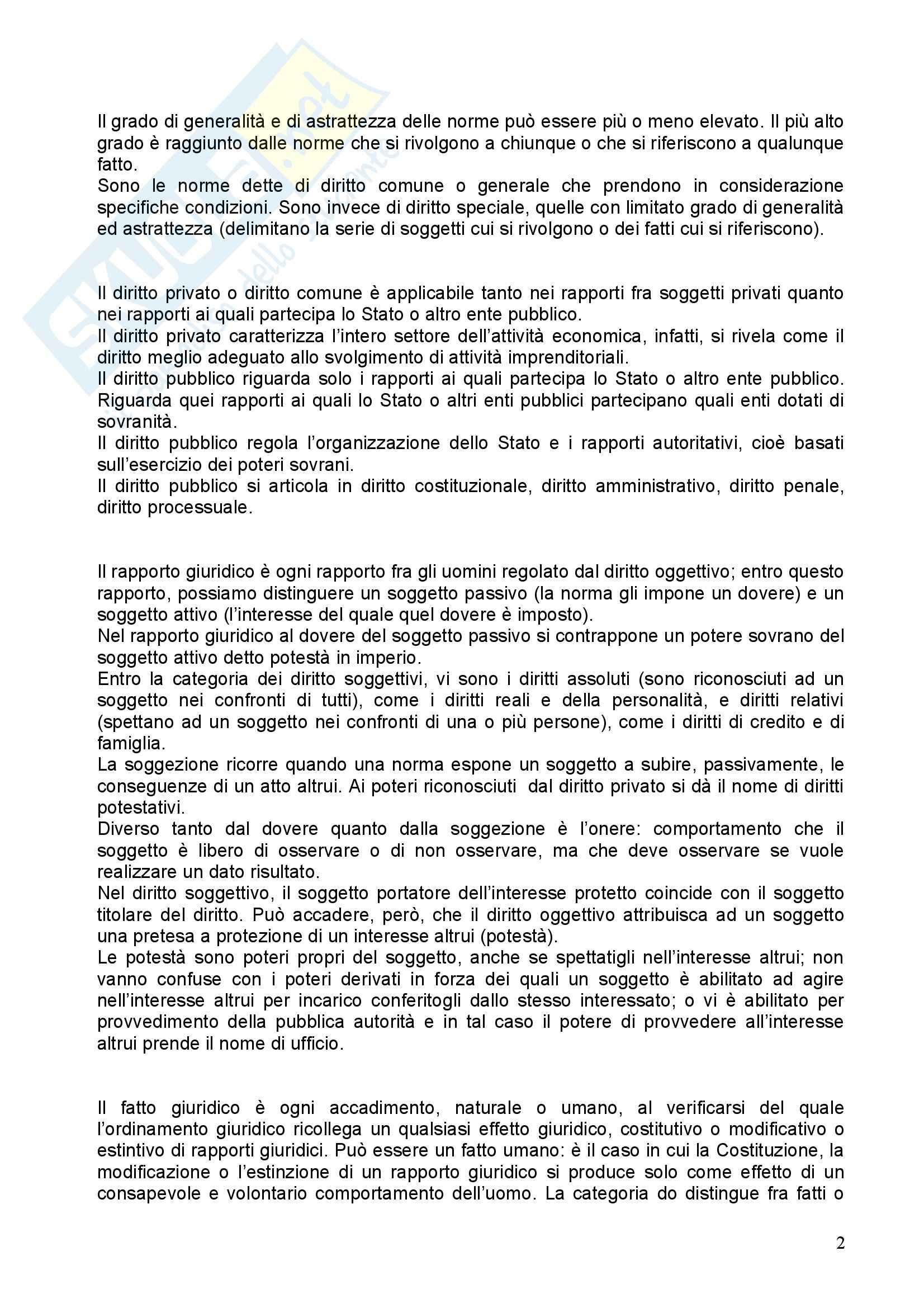 Riassunto esame Diritto Penale, prof. Pascucci, libro consigliato Istituzioni di Diritto Privato Pag. 2