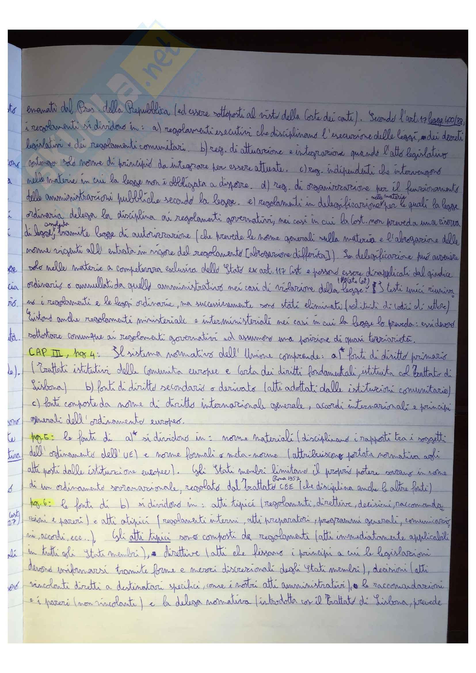 Riassunto esame Diritto Pubblico, docente G. Serges, libro consigliato Diritto pubblico, di F. Modugno Pag. 11