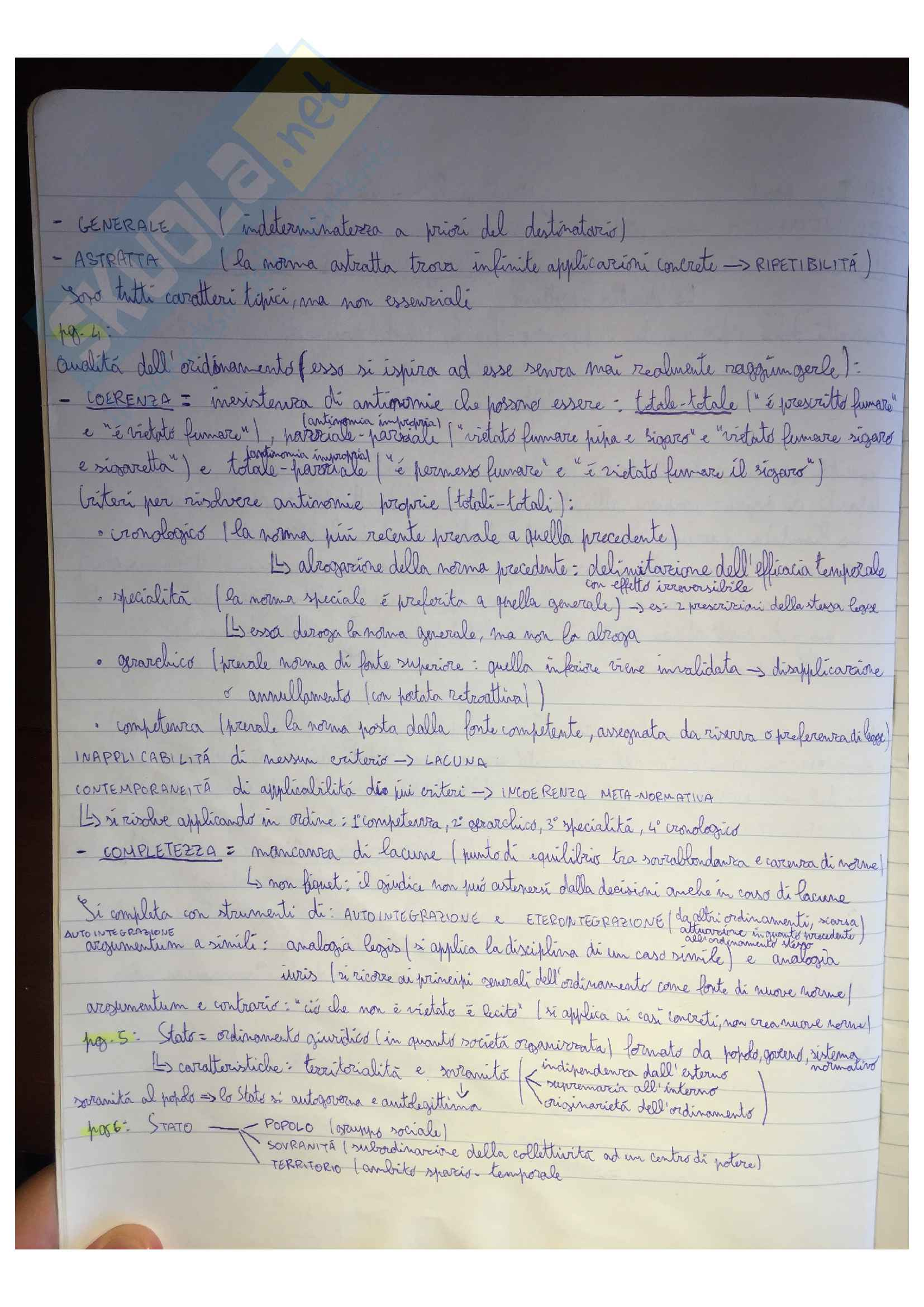 Riassunto esame Diritto Pubblico, docente G. Serges, libro consigliato Diritto pubblico, di F. Modugno Pag. 2