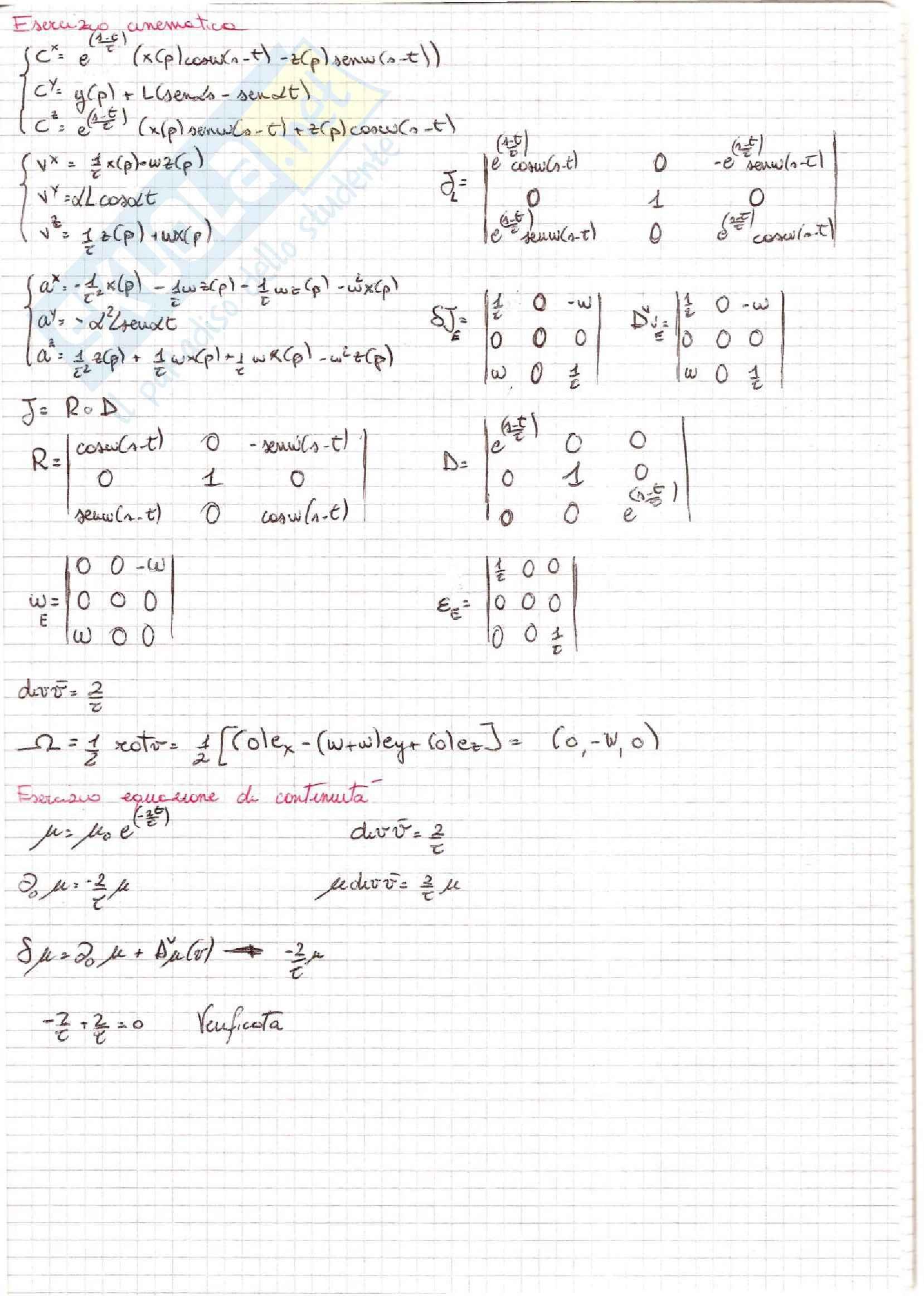 Meccanica dei Continui - Esercizi Pag. 21