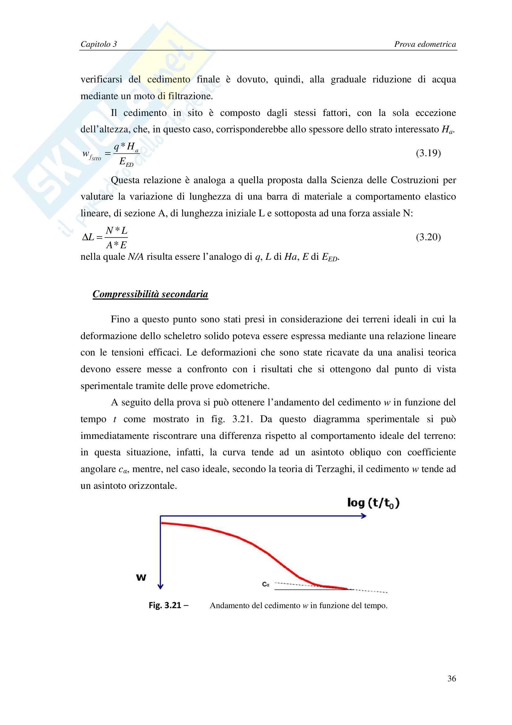 Tesi di Laurea Triennale - Prova Edometrica su Argilla Pag. 41