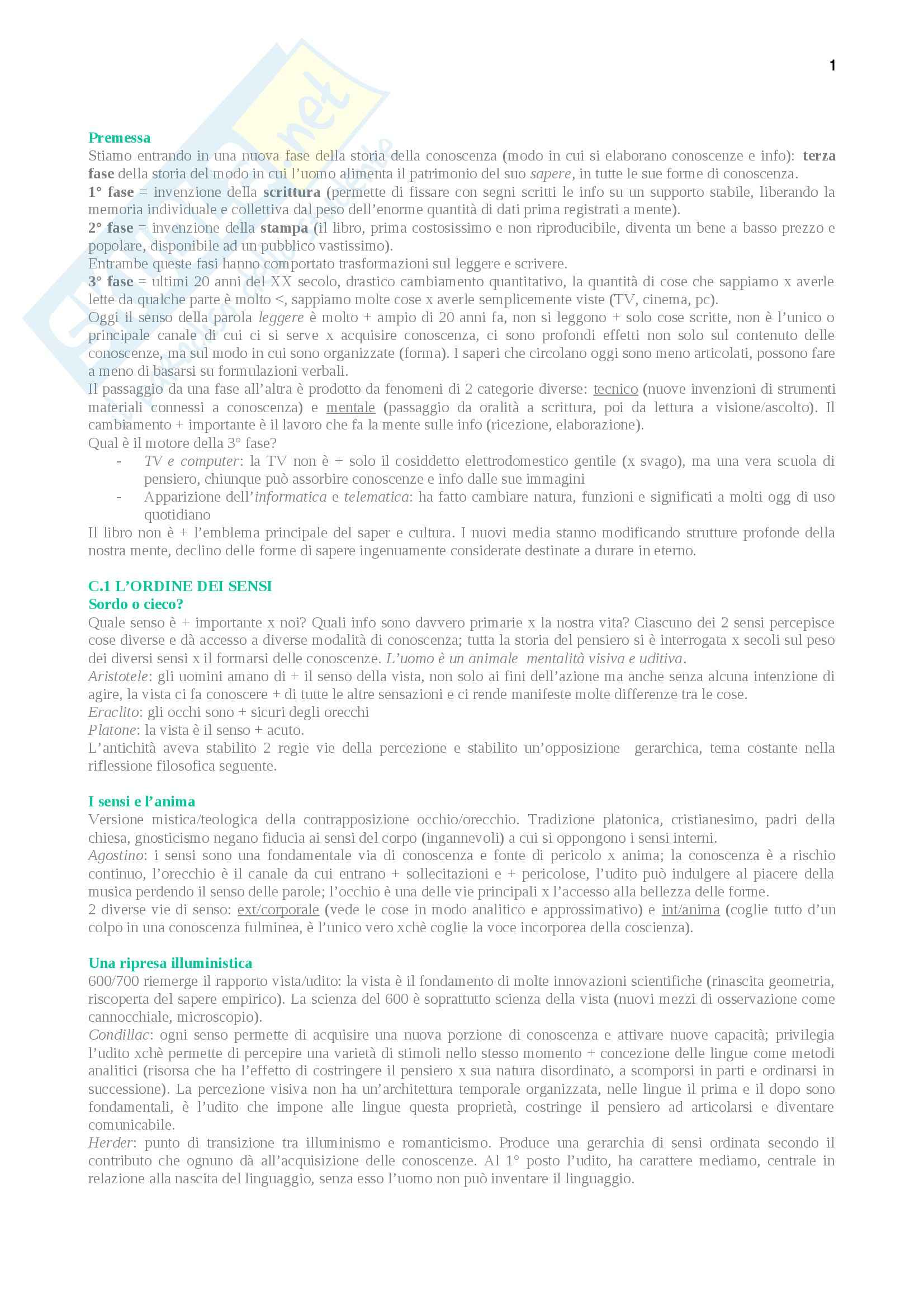 Riassunto esame Didattica, prof. Azzolini, libro consigliato La terza fase, Simone