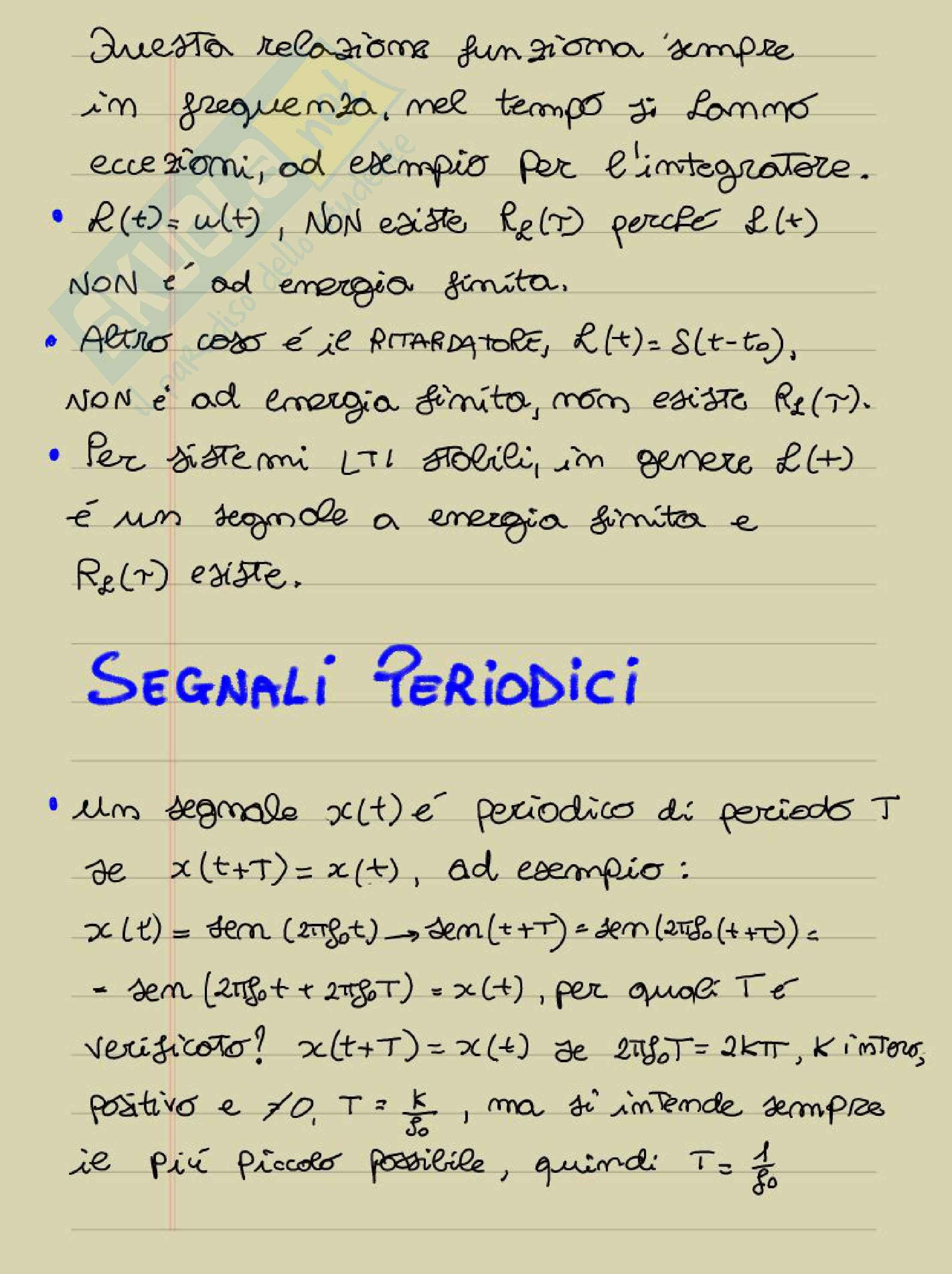 Lezioni: Appunti di Analisi dei segnali Pag. 51