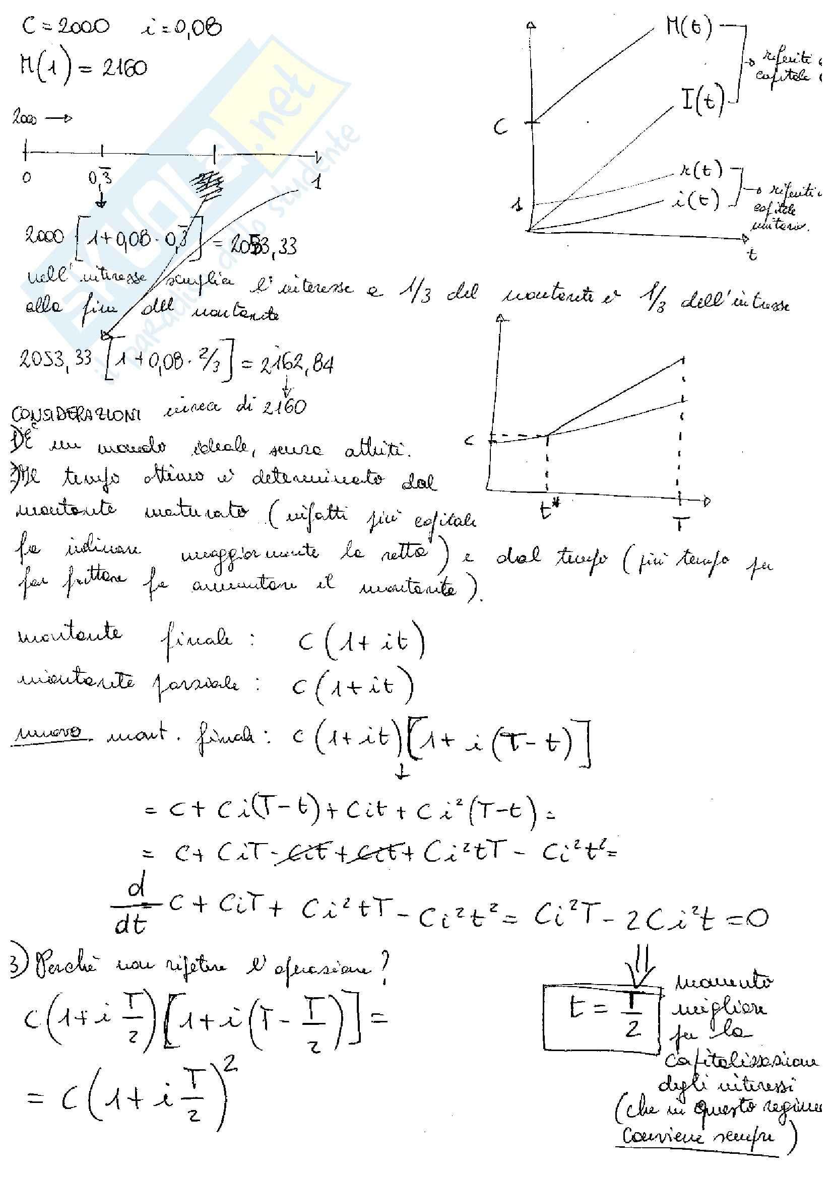 Matematica Finanziaria - Corso completo Pag. 6