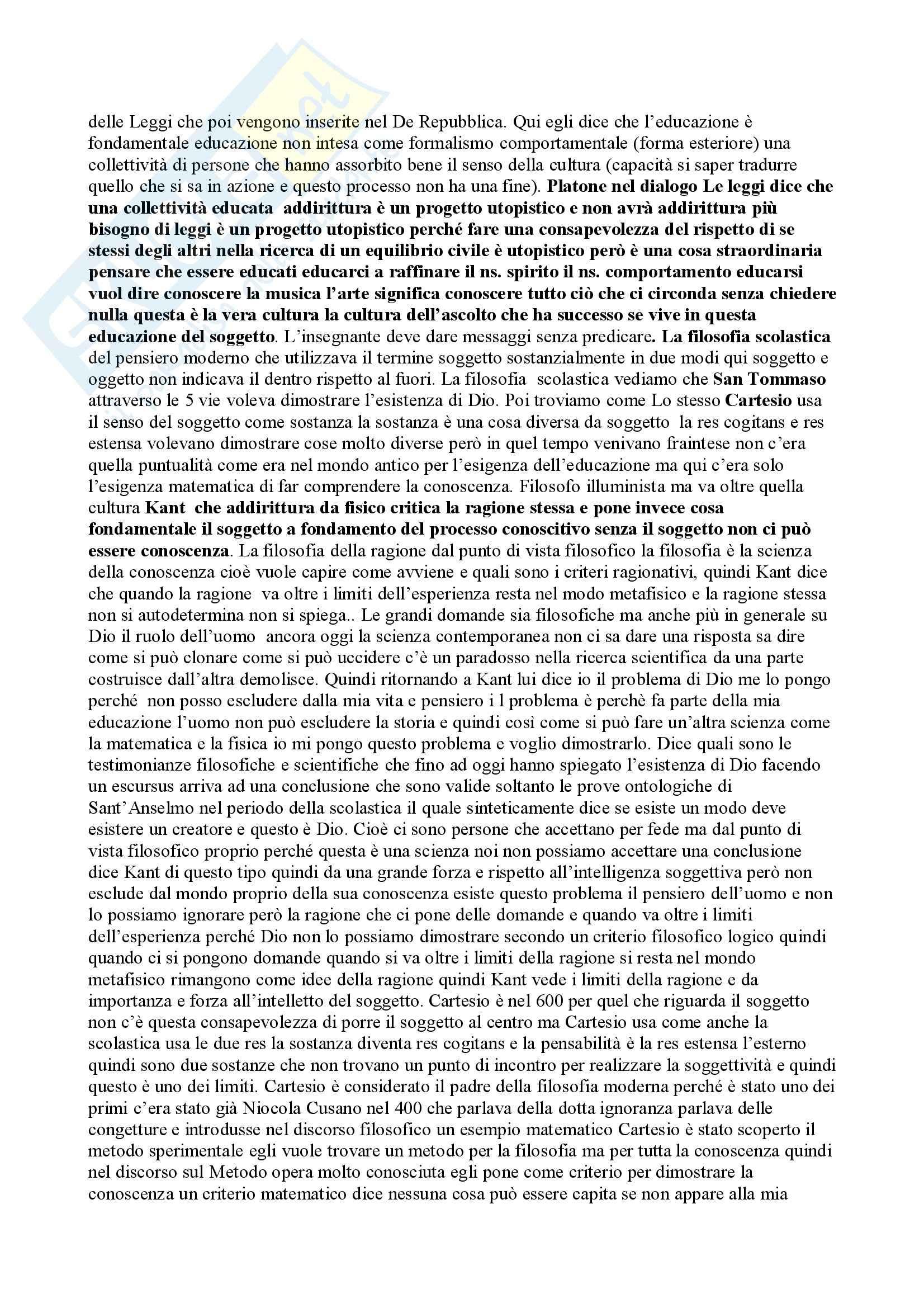 Sociologia della famiglia Pag. 6