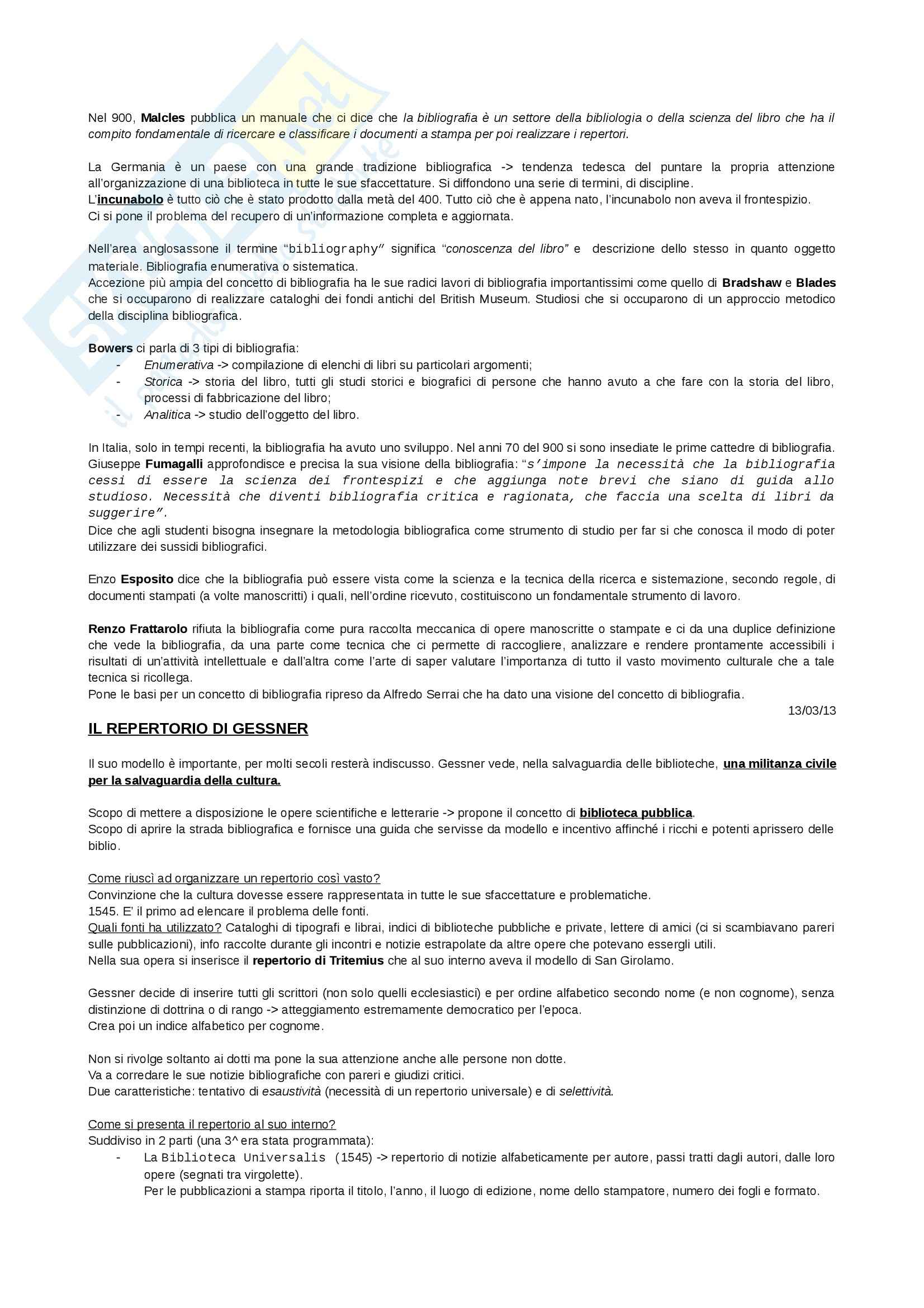 Bibliografia - Appunti Pag. 2
