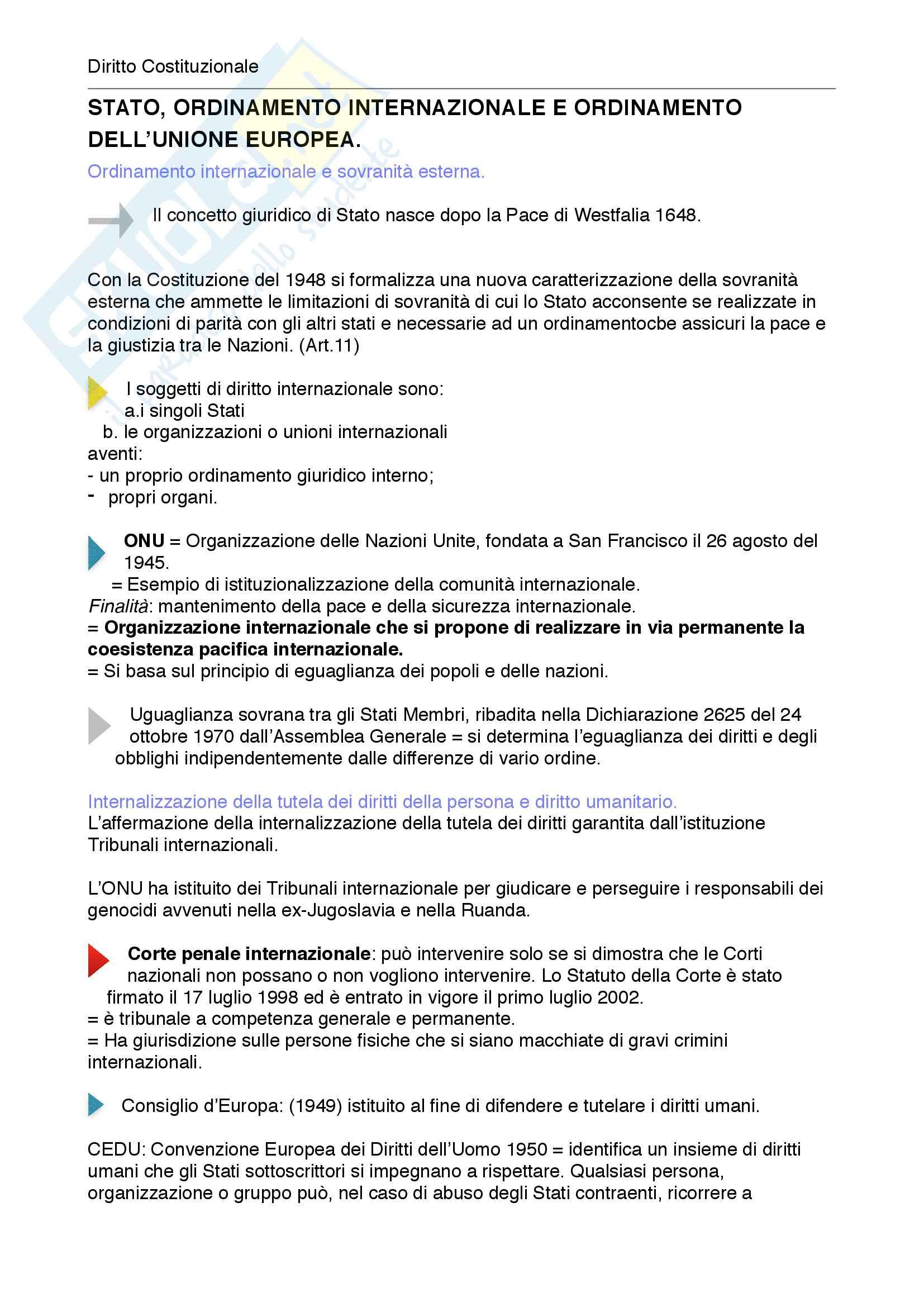 Riassunto esame diritto costituzionale, prof. Mezzetti, libro consigliato Manuale breve di diritto costituzionale Pag. 131