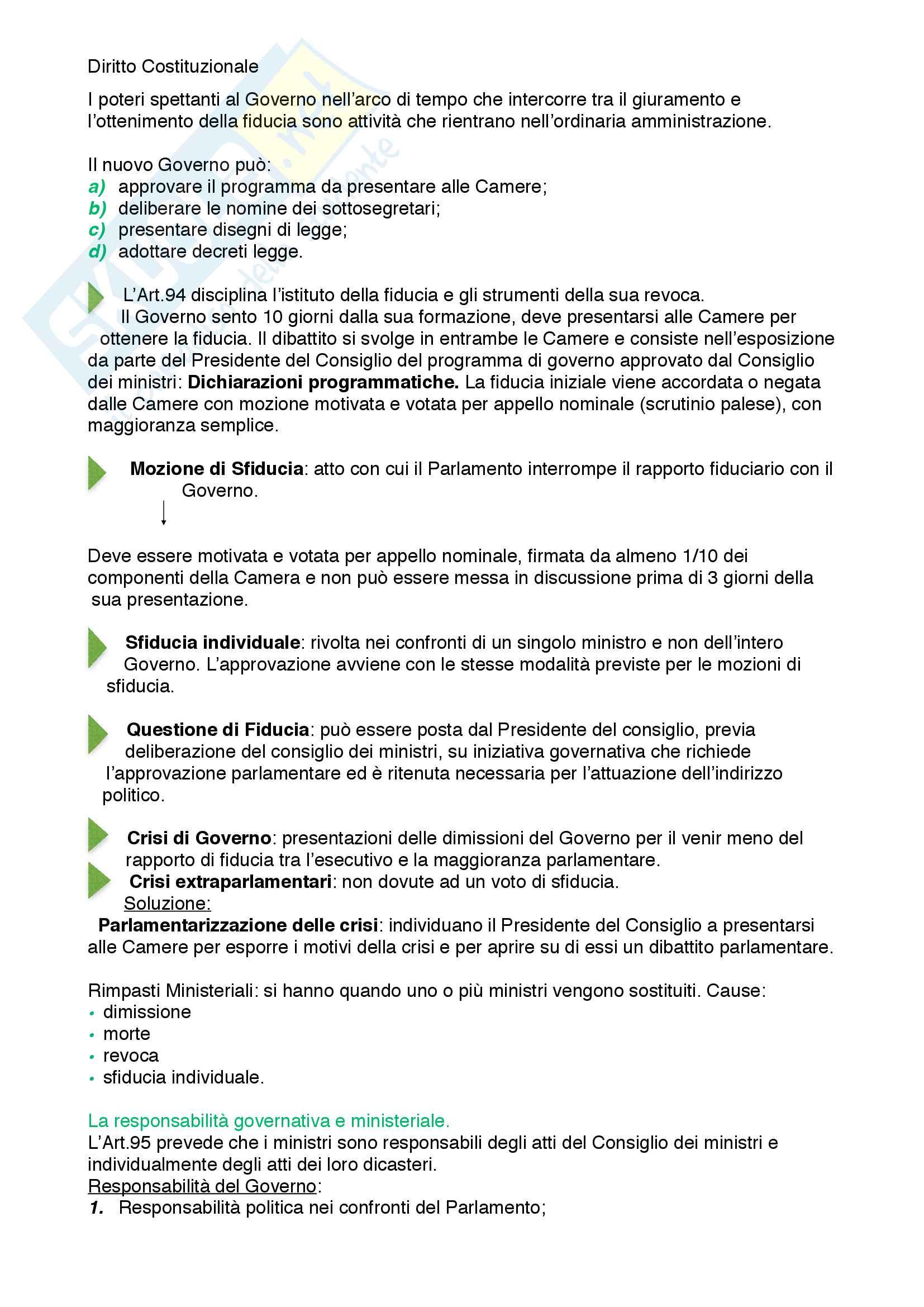 Riassunto esame diritto costituzionale, prof. Mezzetti, libro consigliato Manuale breve di diritto costituzionale Pag. 41
