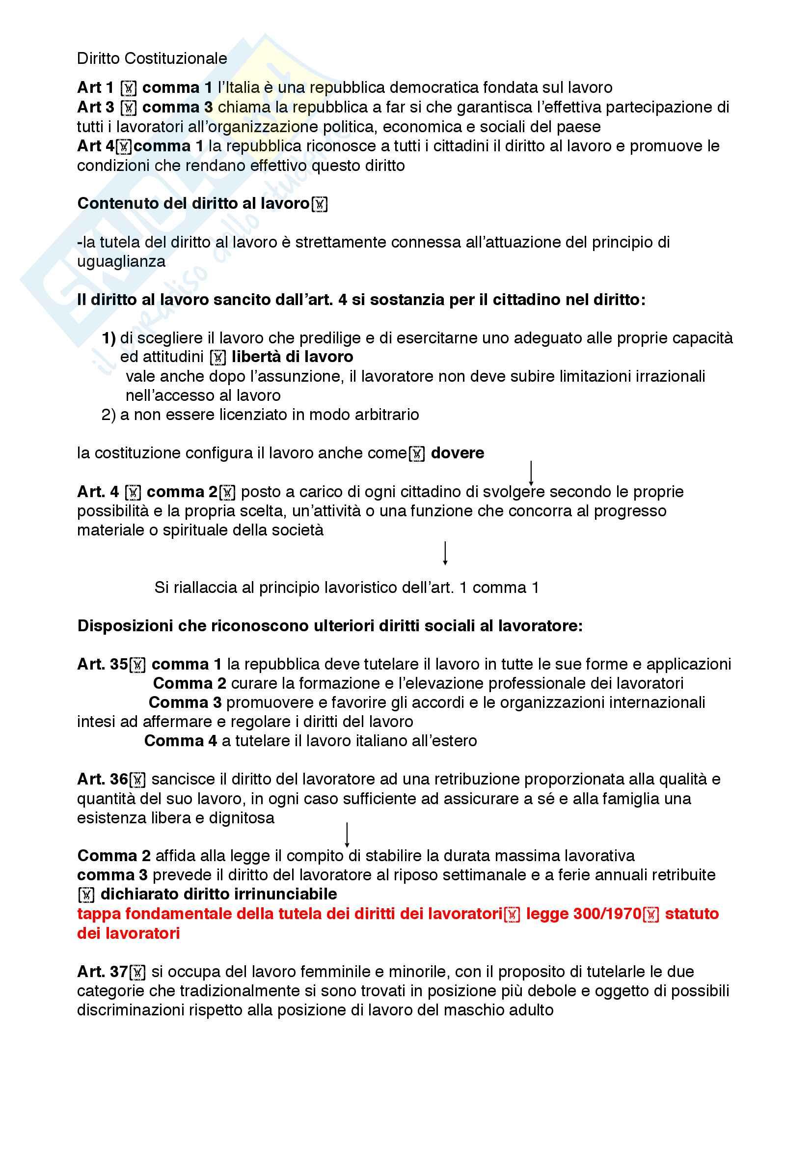 Riassunto esame diritto costituzionale, prof. Mezzetti, libro consigliato Manuale breve di diritto costituzionale Pag. 61