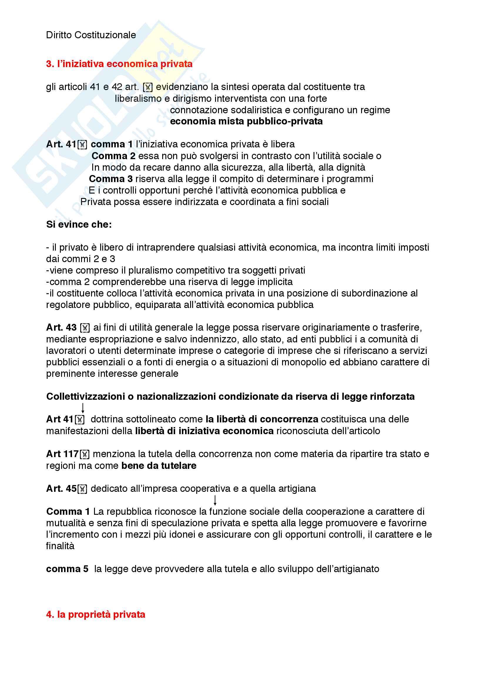 Riassunto esame diritto costituzionale, prof. Mezzetti, libro consigliato Manuale breve di diritto costituzionale Pag. 66
