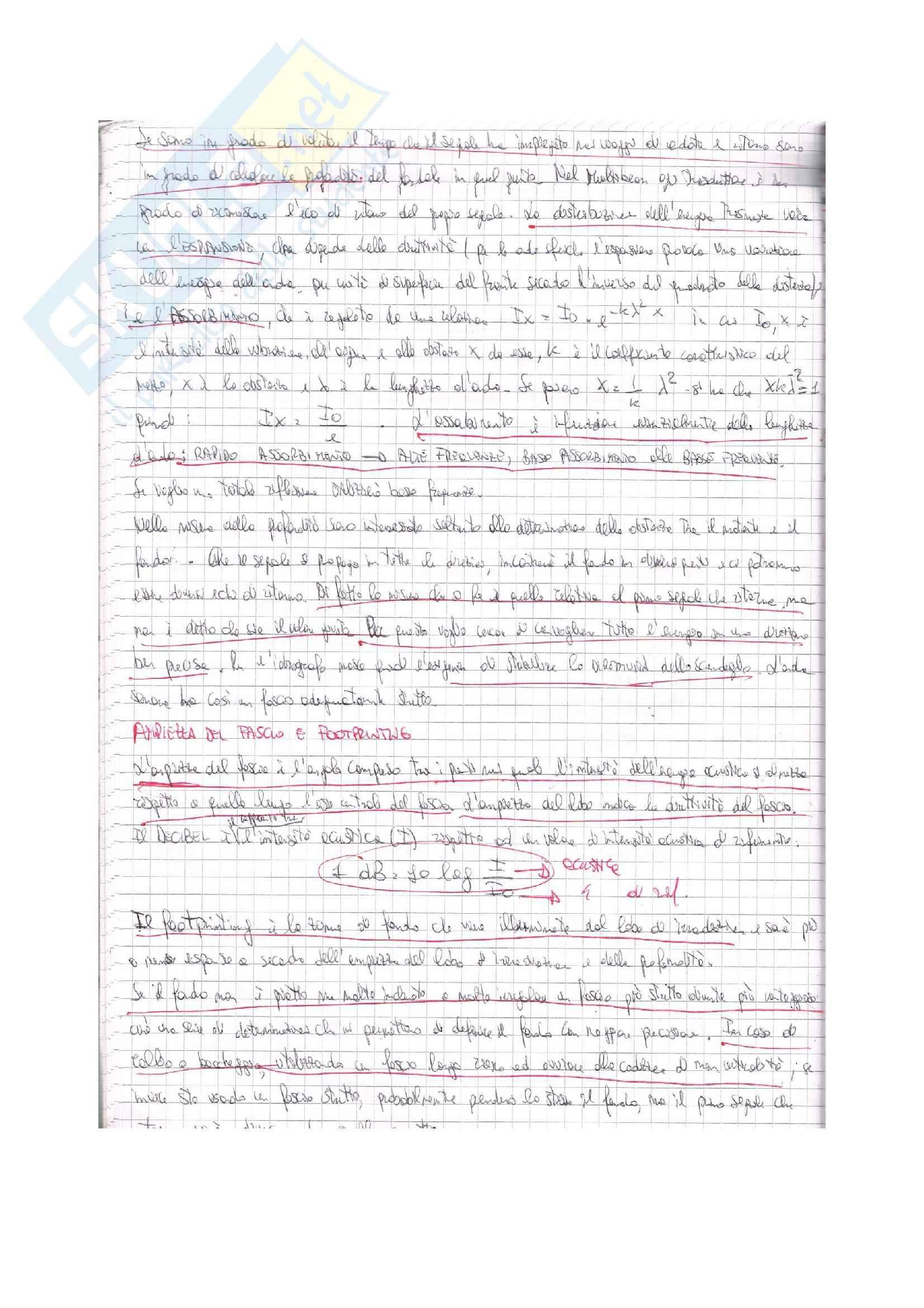 Lezioni, Complementi di idrografia Pag. 36