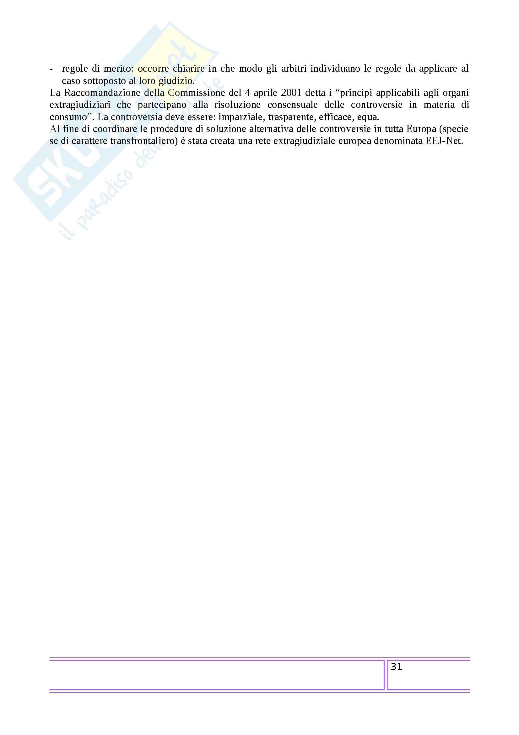 Riassunto esame Informatica Giuridica, prof. Sartor, libro consigliato Il diritto dell'era digitale, Pascuzzi Pag. 31