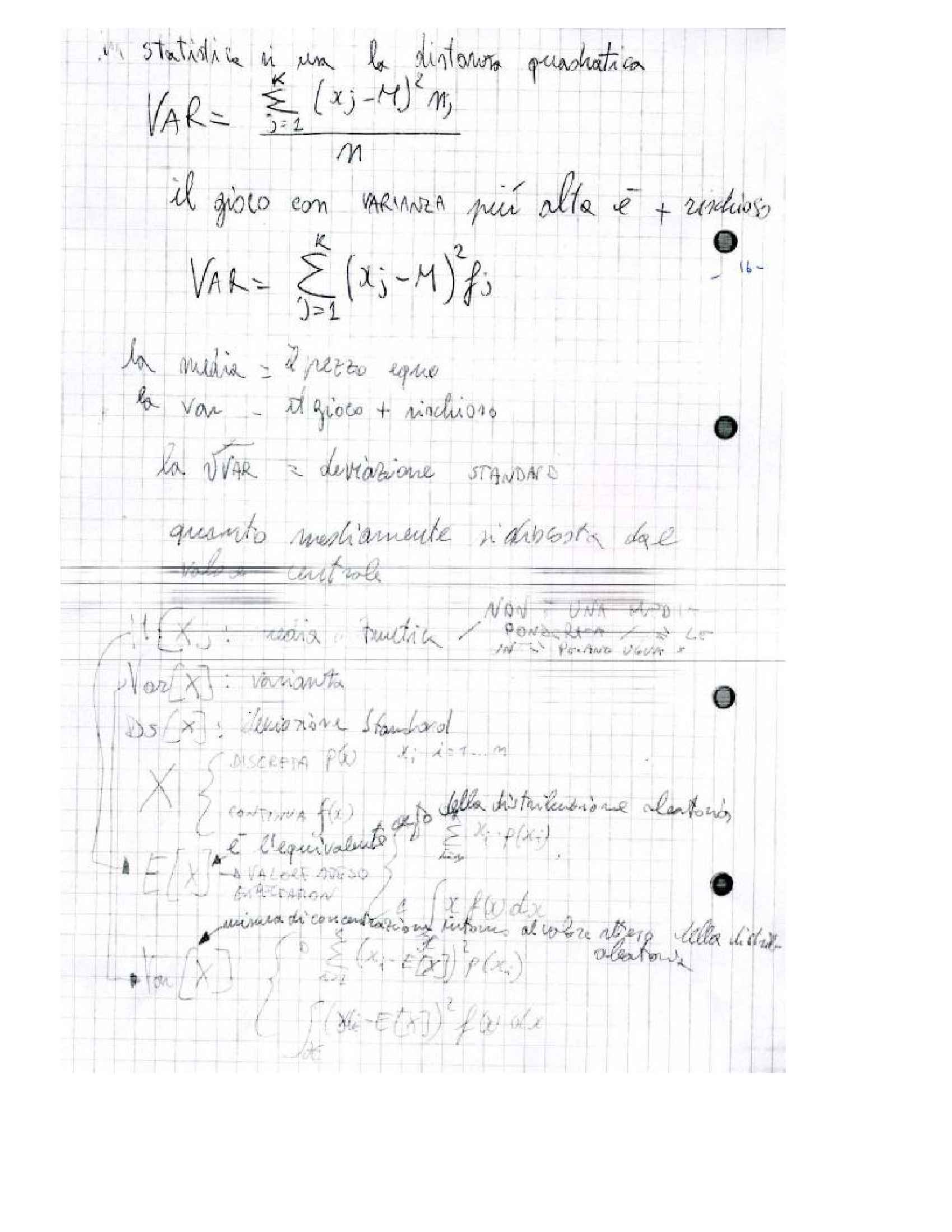 Statistica matematica - Esercizi Pag. 16