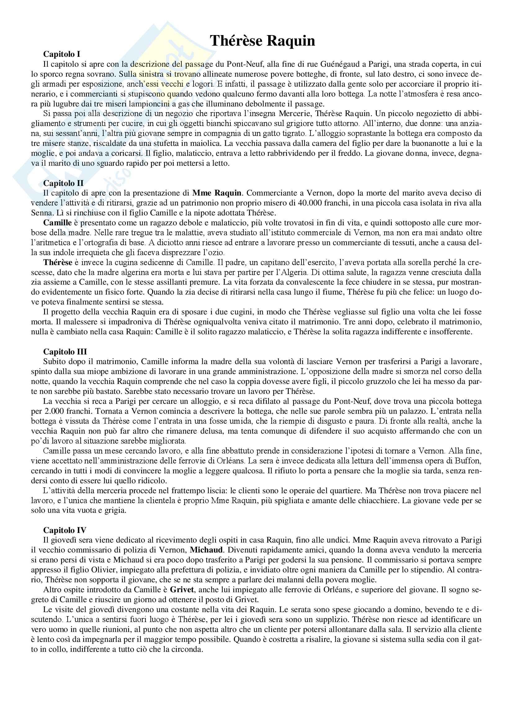 appunto P. Pellini Letteratura francese