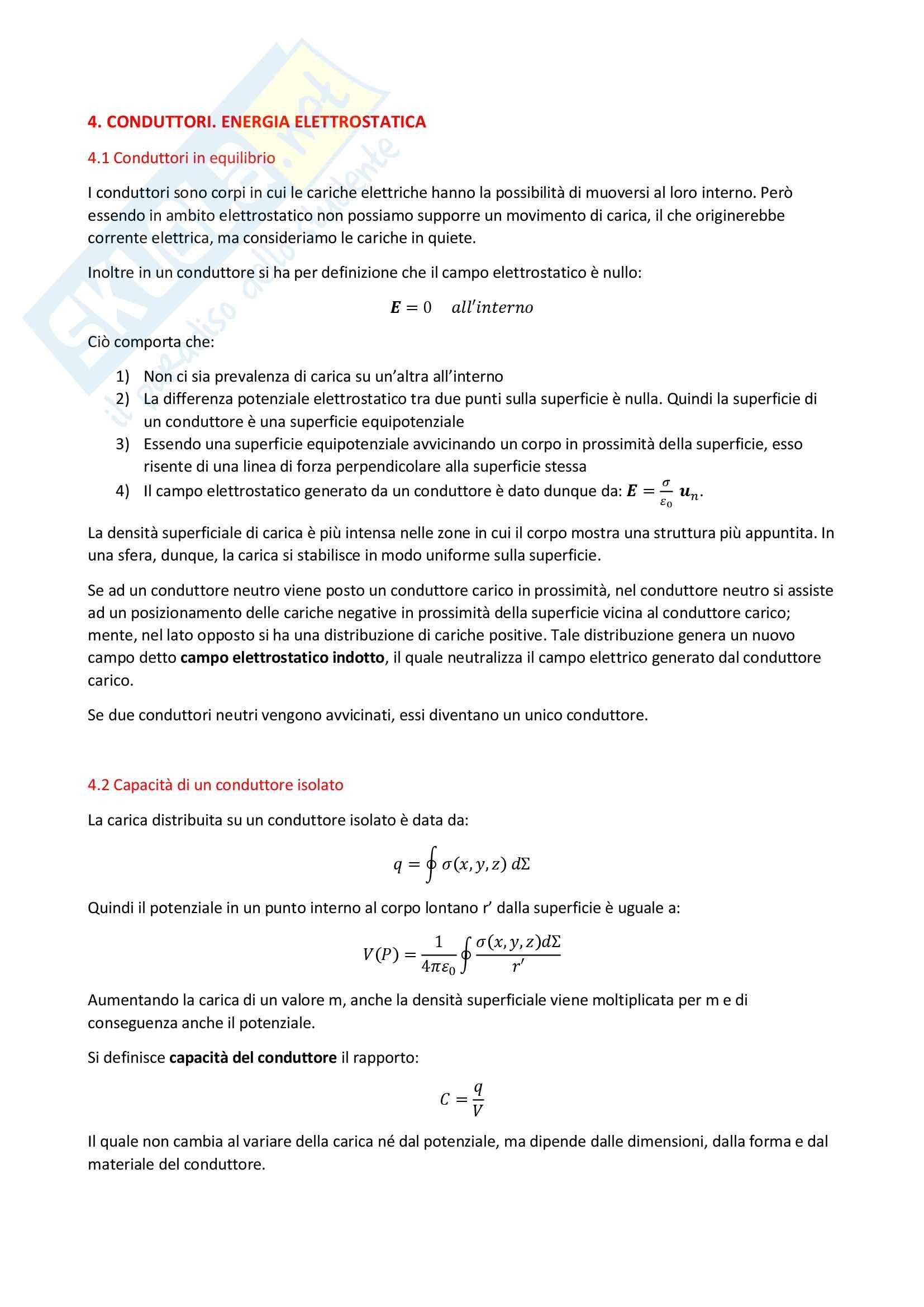 Nozioni, Fisica II Pag. 16