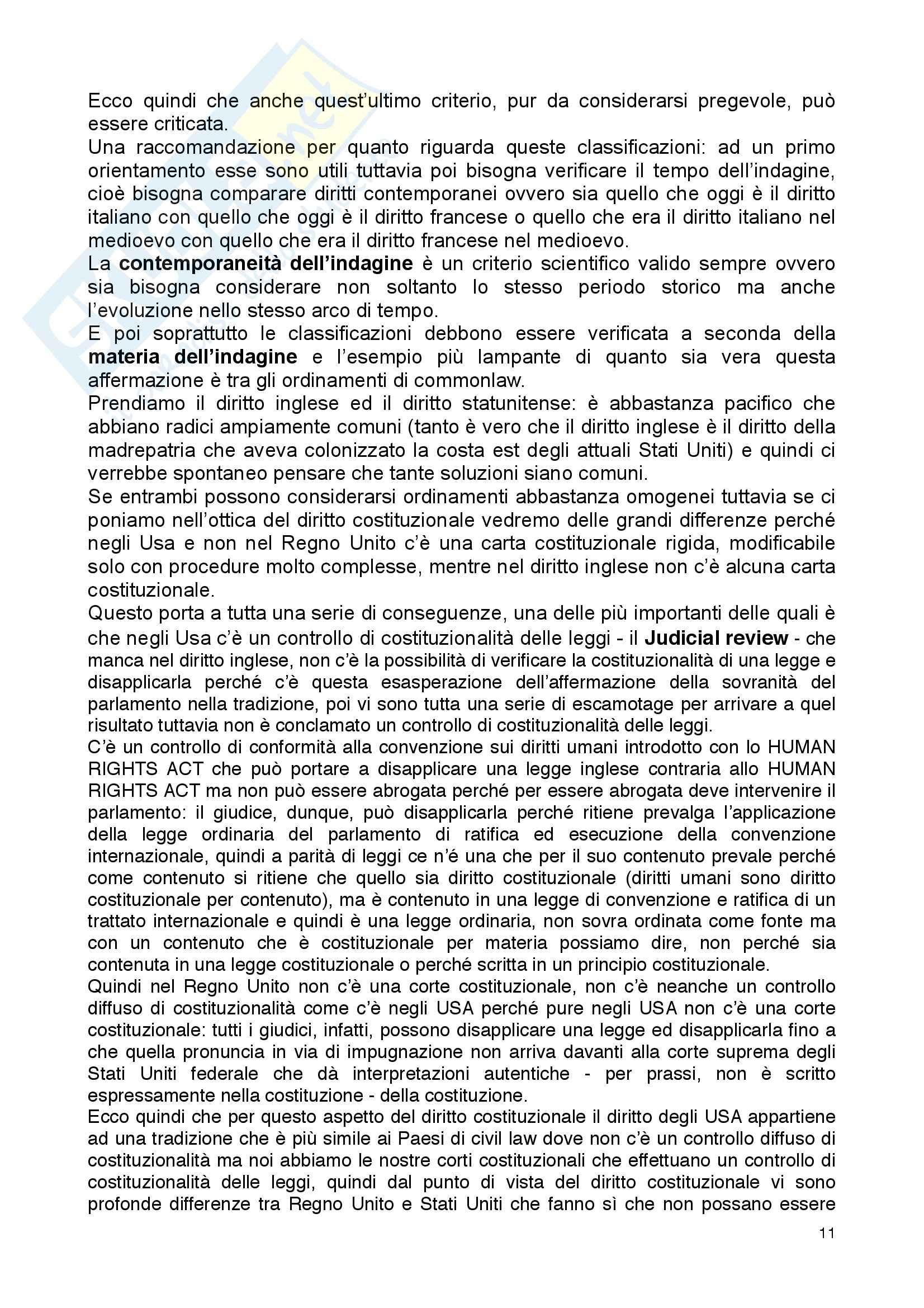 Diritto privato comparato - Appunti Pag. 11