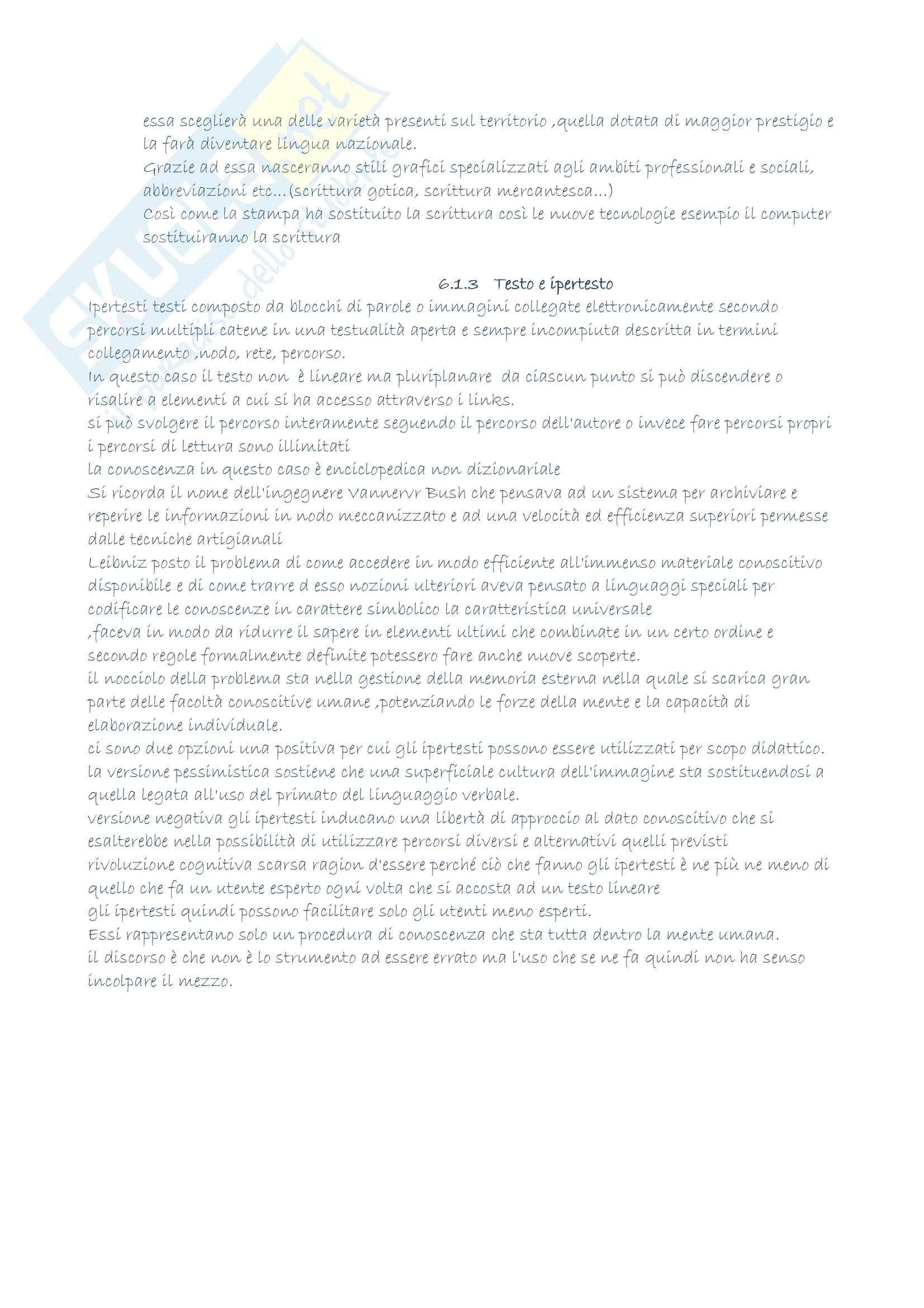 Riassunto esame Filosofia del linguaggio, prof. Gensini, libro consigliato Elementi di semiotica, Gensini Pag. 26