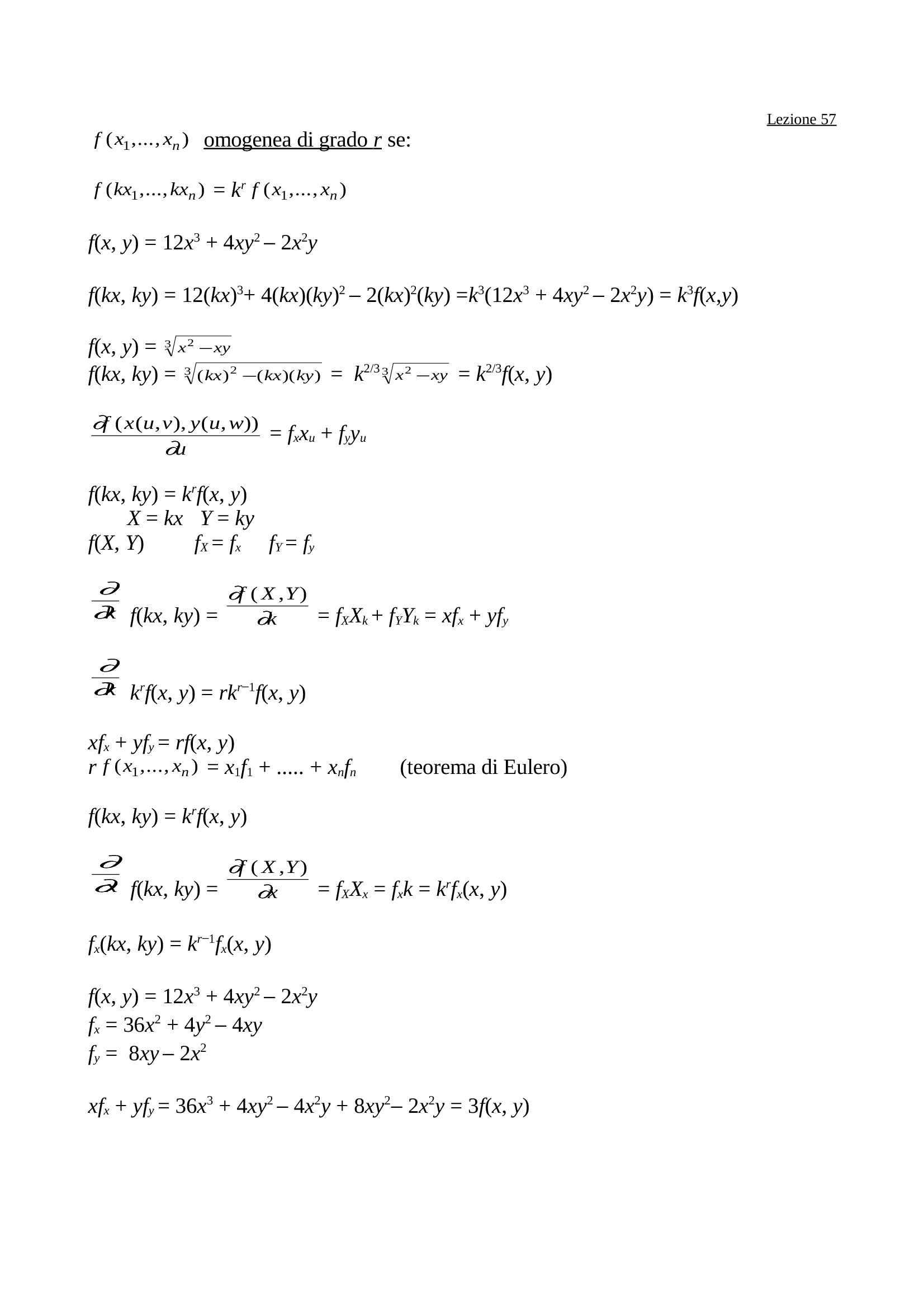 dispensa F. Cacciafesta Matematica Generale