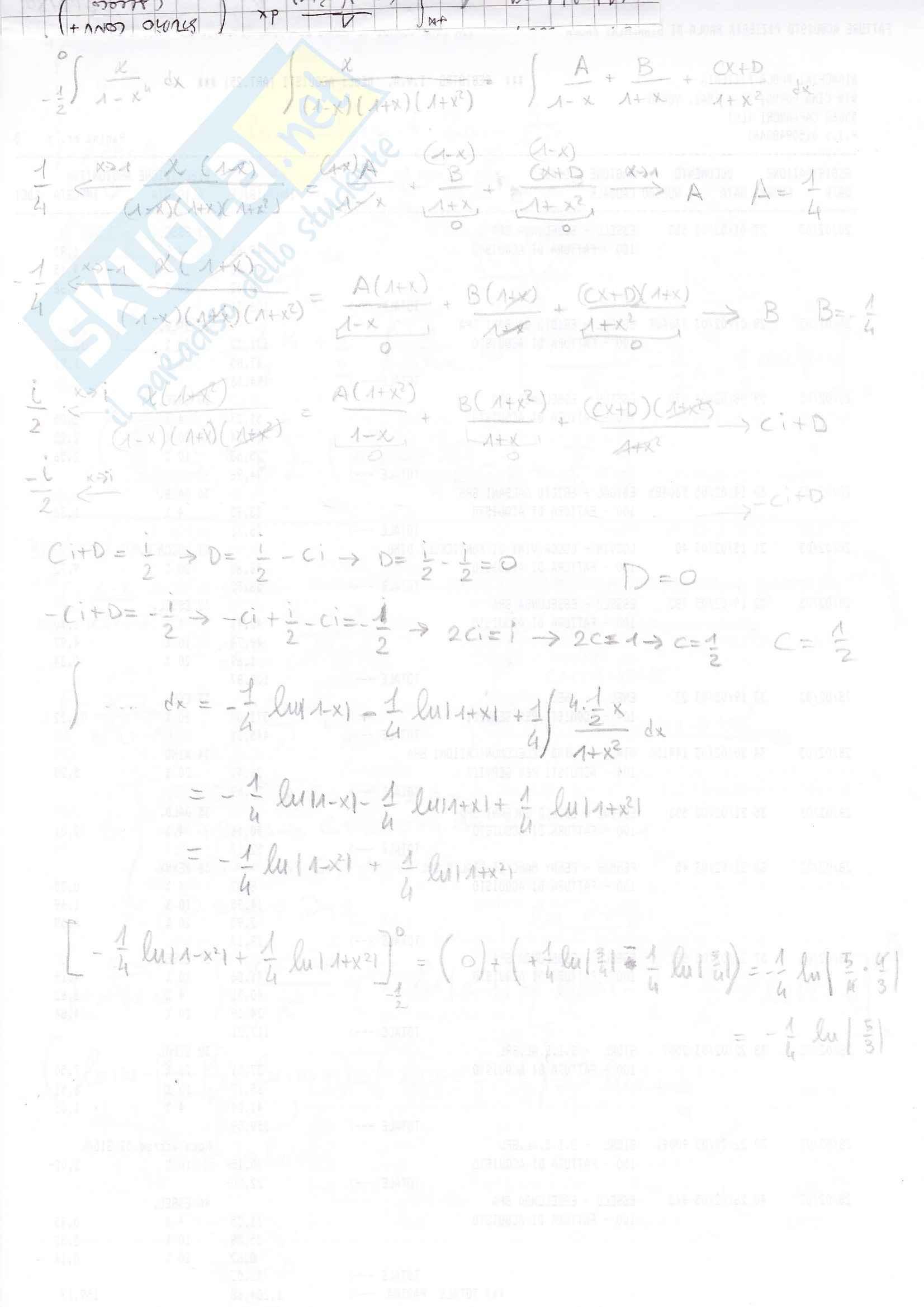 esercitazione C. Berselli Analisi matematica I