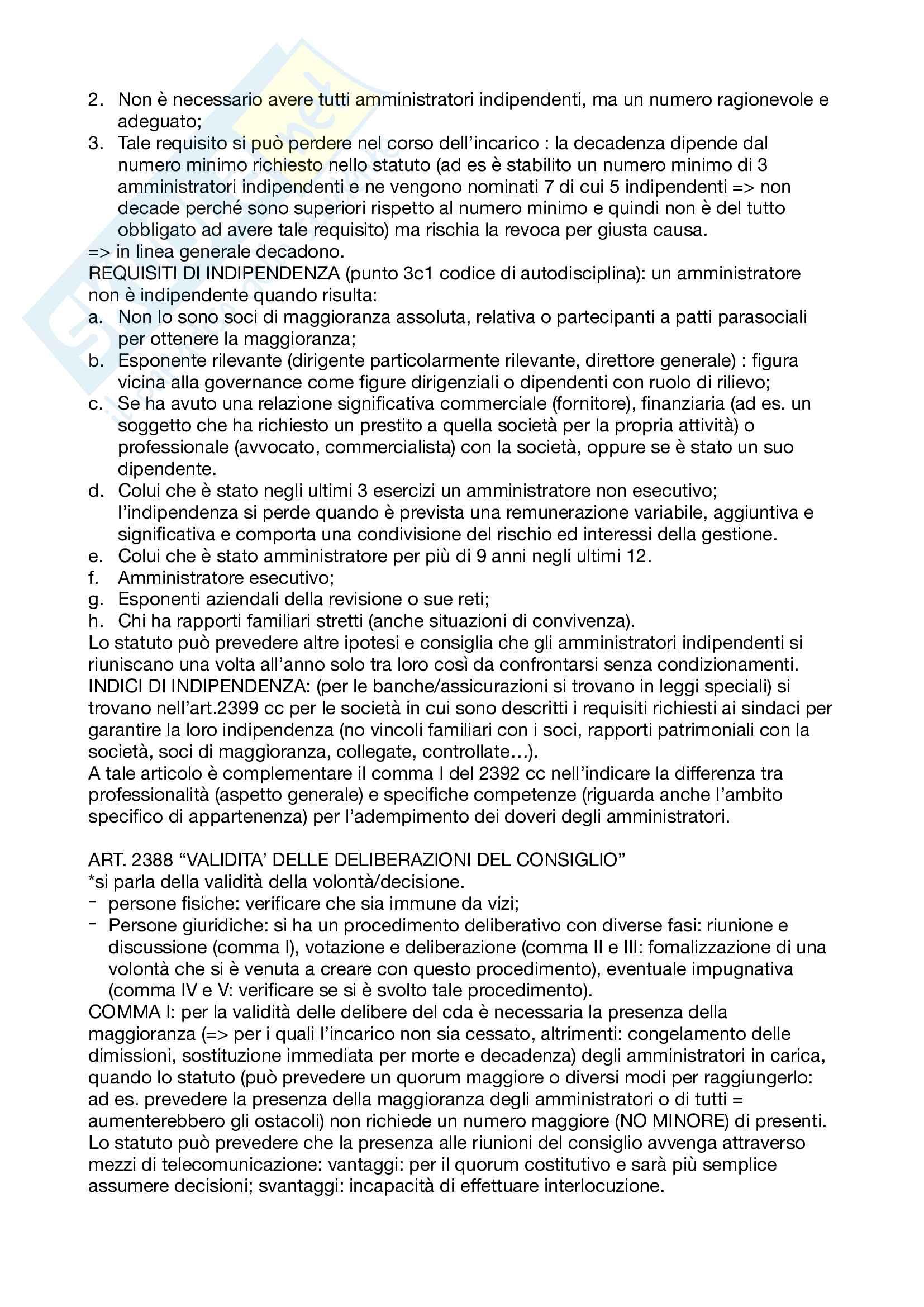 Appunti Diritto commerciale corso avanzato Pag. 11