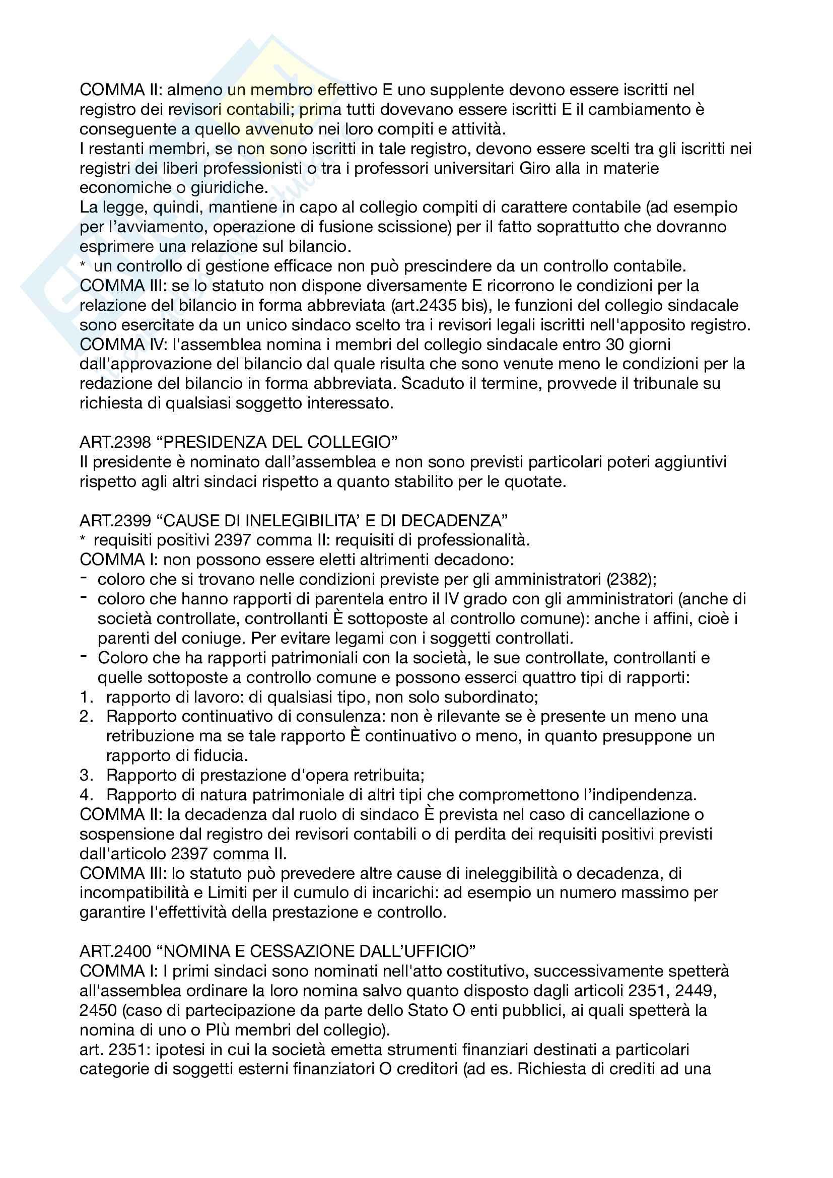 Appunti Diritto commerciale corso avanzato Pag. 21