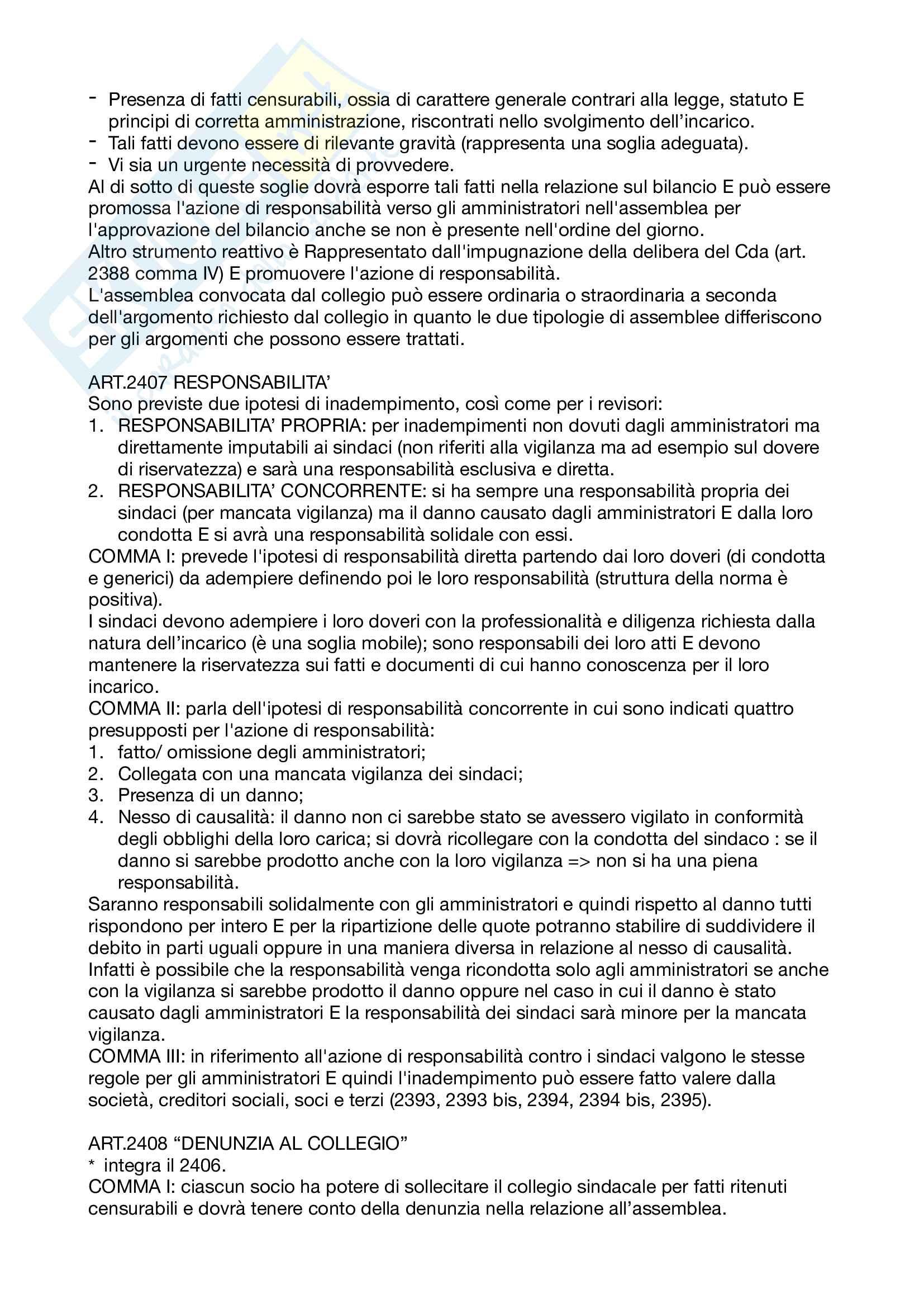 Appunti Diritto commerciale corso avanzato Pag. 26