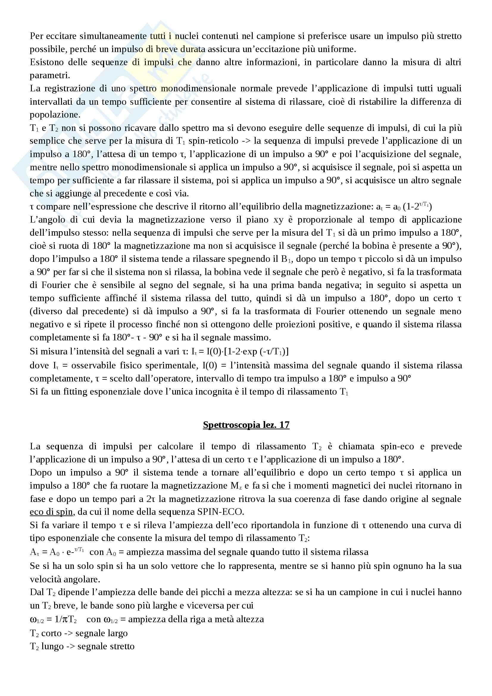 Spettroscopia - Appunti Pag. 51