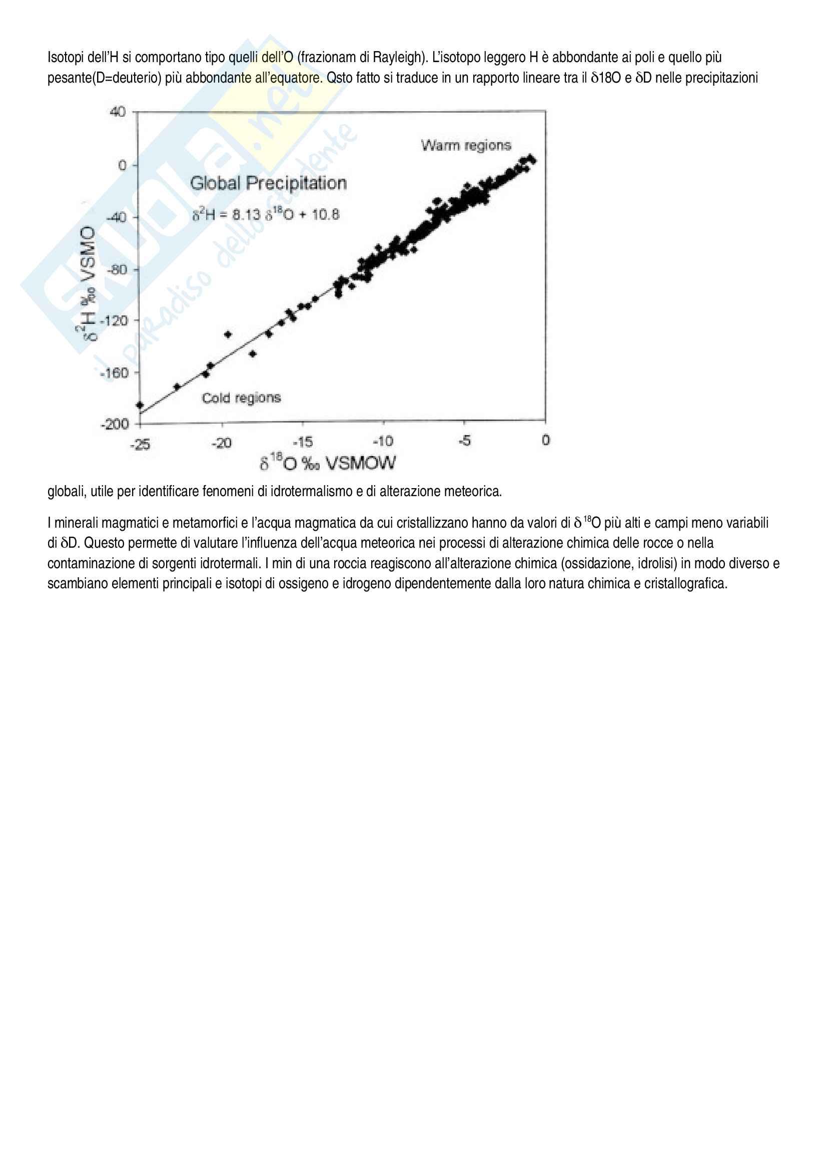 Geochimica - riassunto completo per il corso Pag. 31