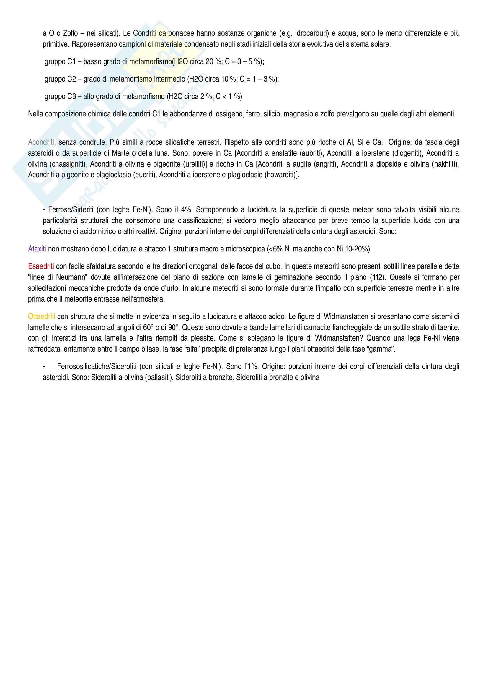 Geochimica - riassunto completo per il corso Pag. 6