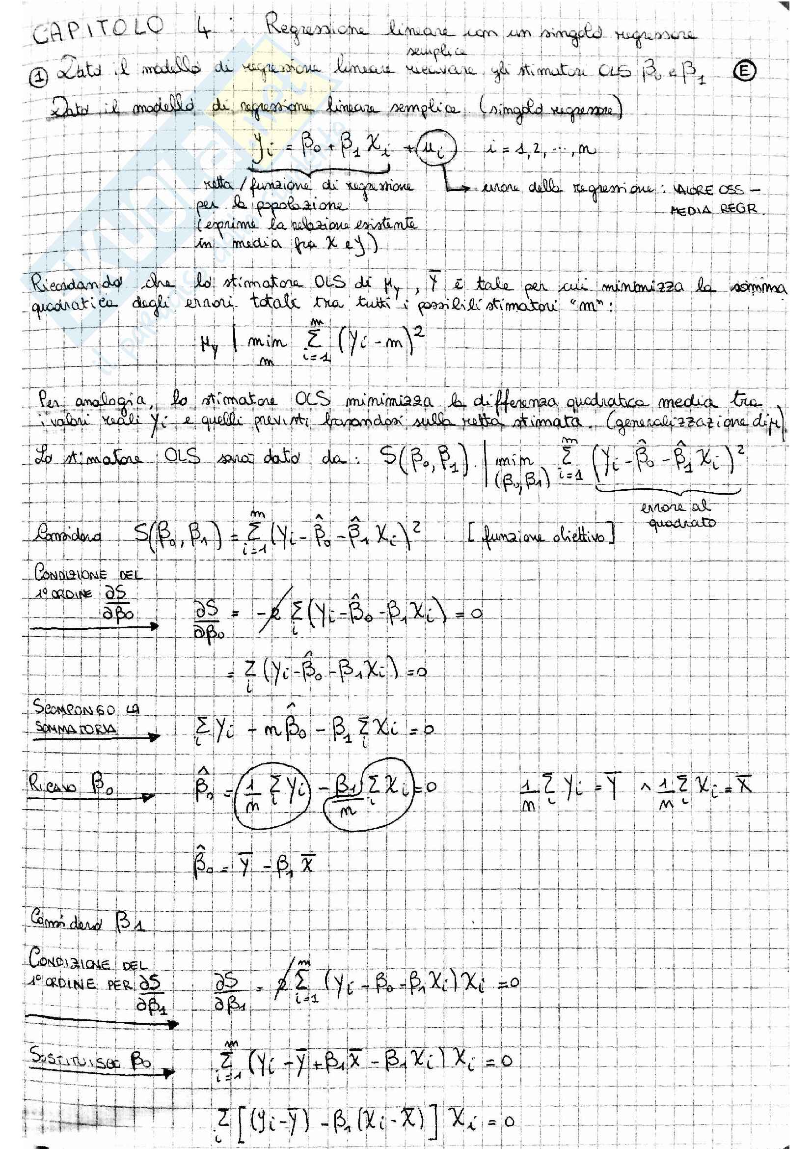 Regressione lineare OLS Pag. 2