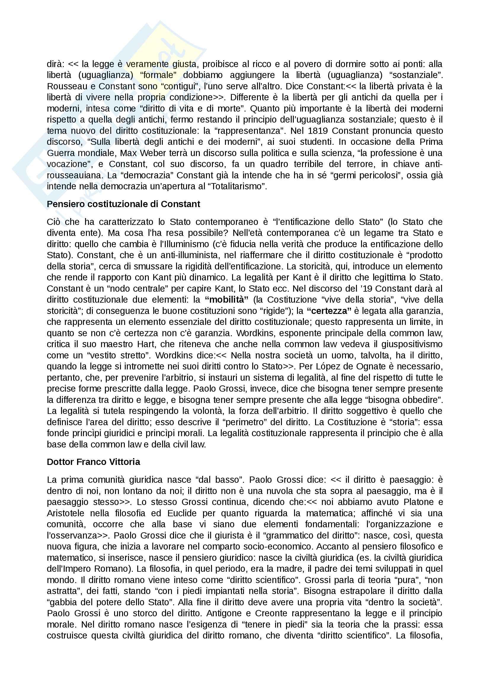 Teoria generale del diritto (Prof Acocella) Pag. 6