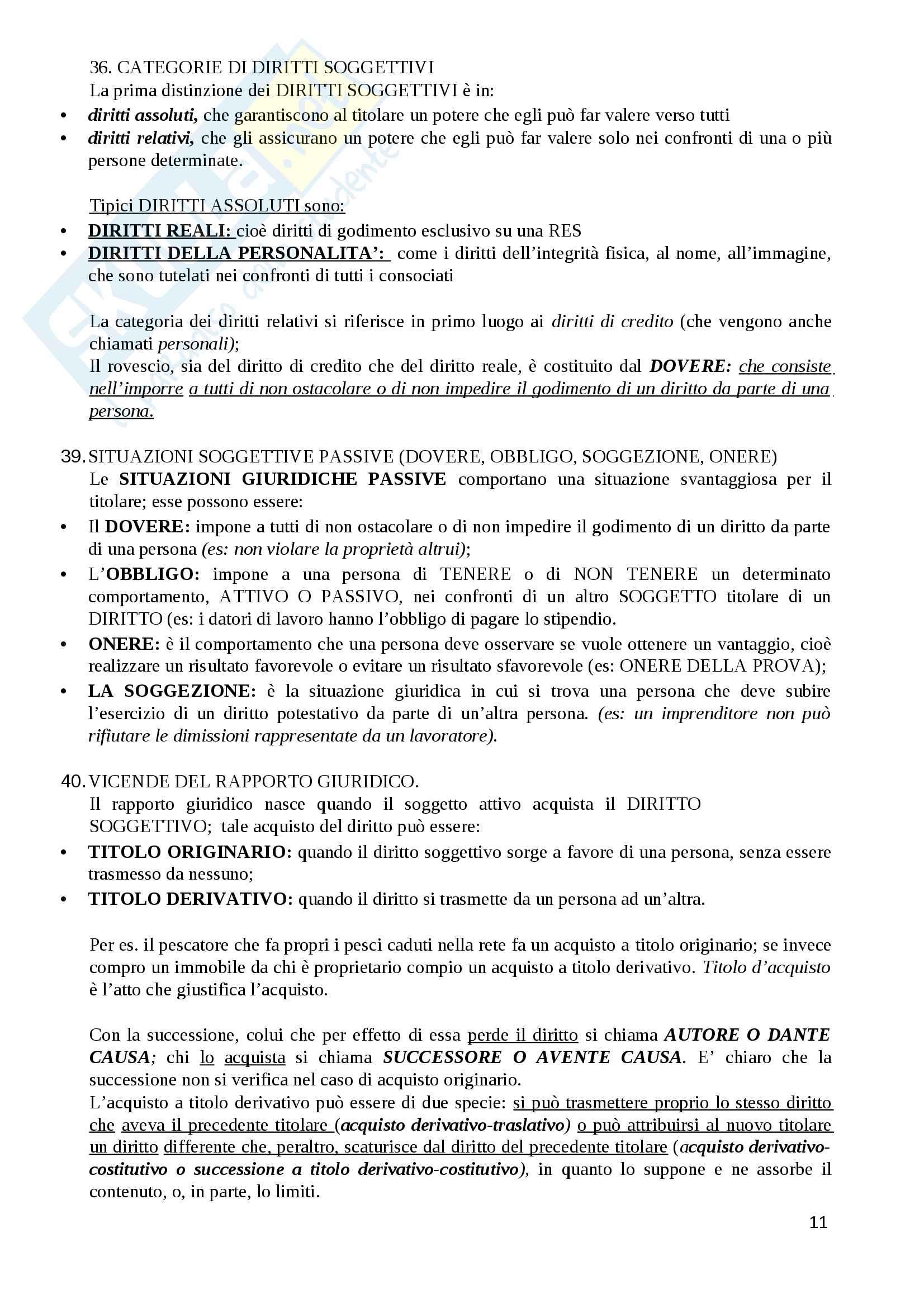 Diritto Privato Pag. 11