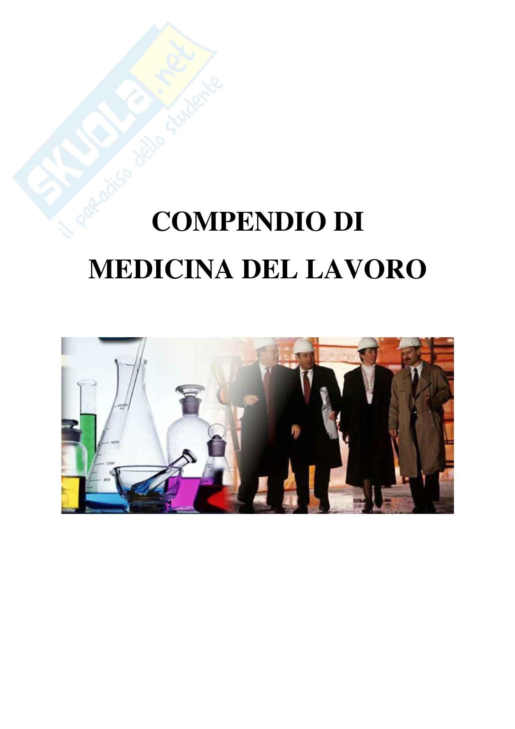 Medicina del lavoro – Compendio