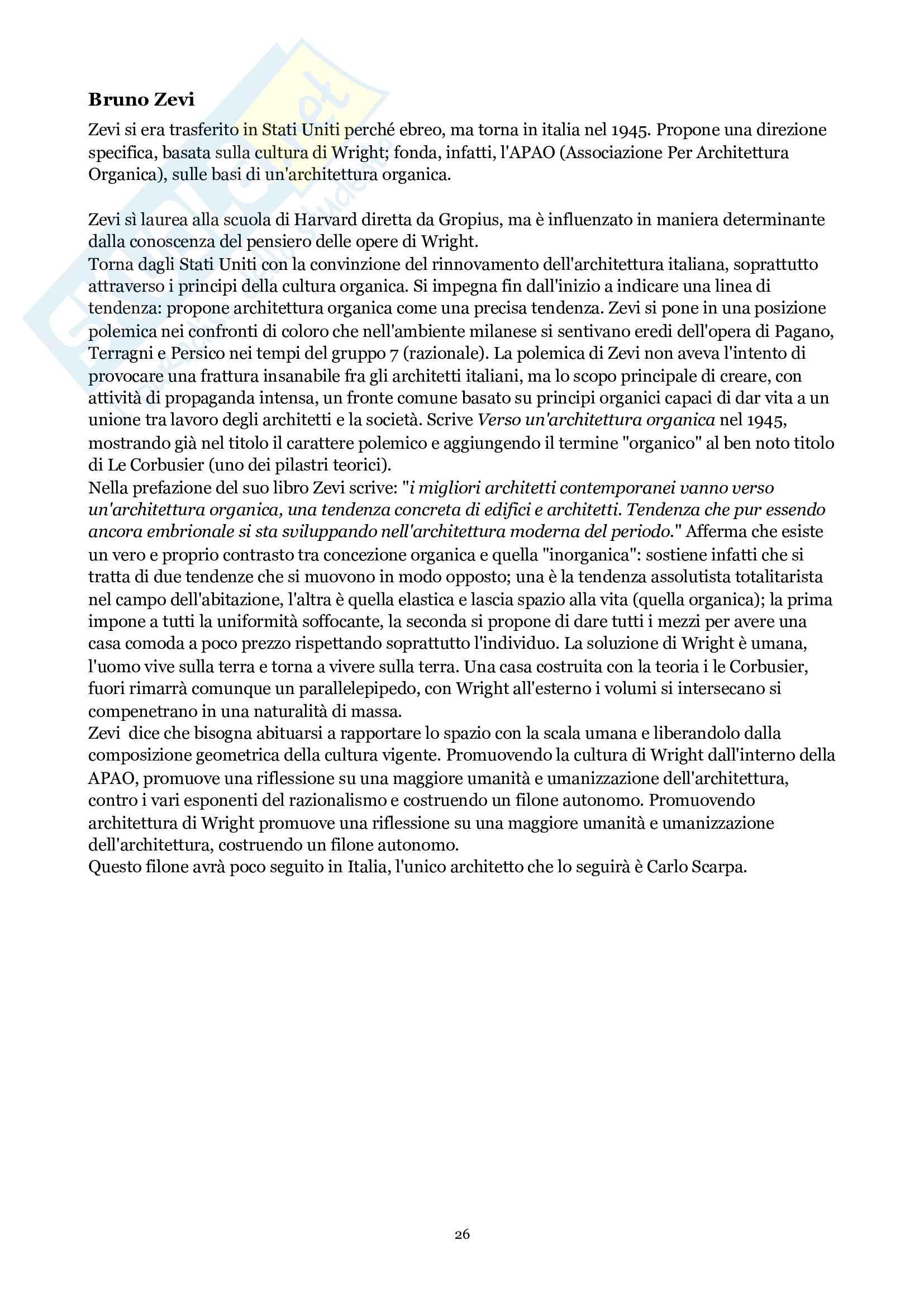 Storia dell'architettura contemporanea Pag. 26