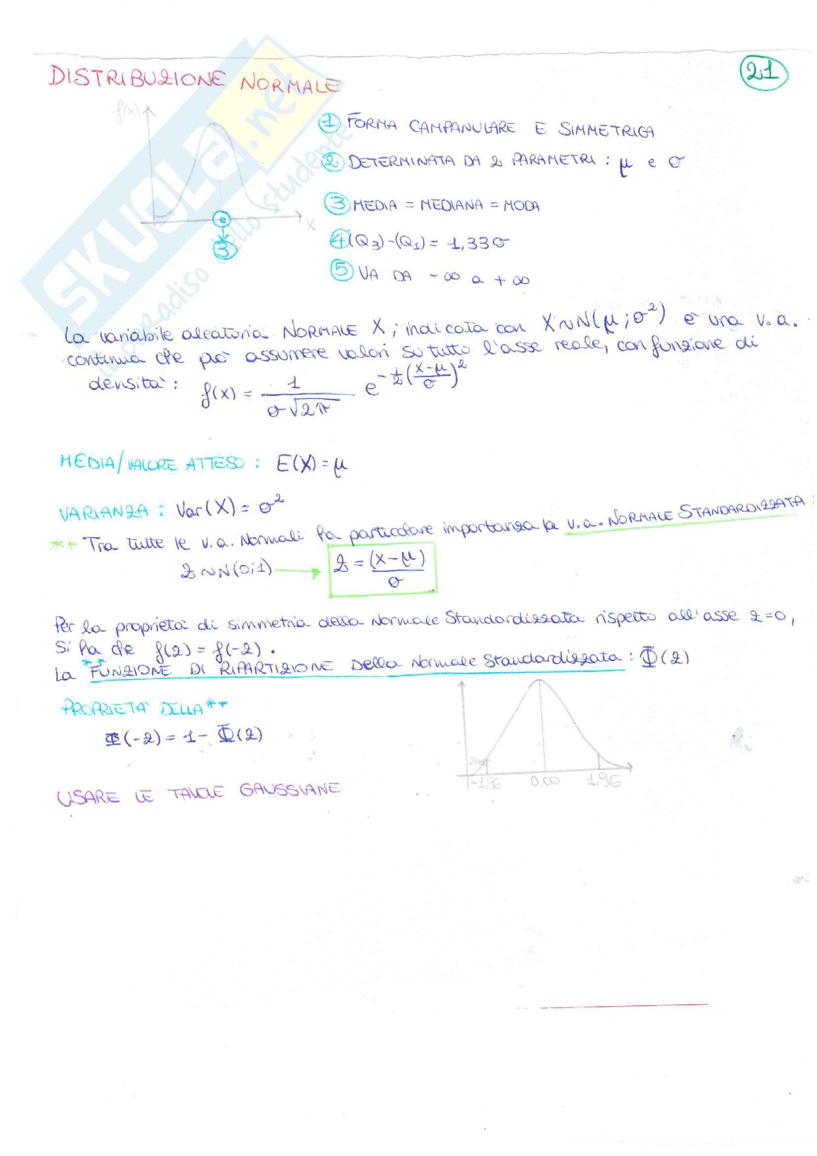 Appunti Statistica Pag. 21