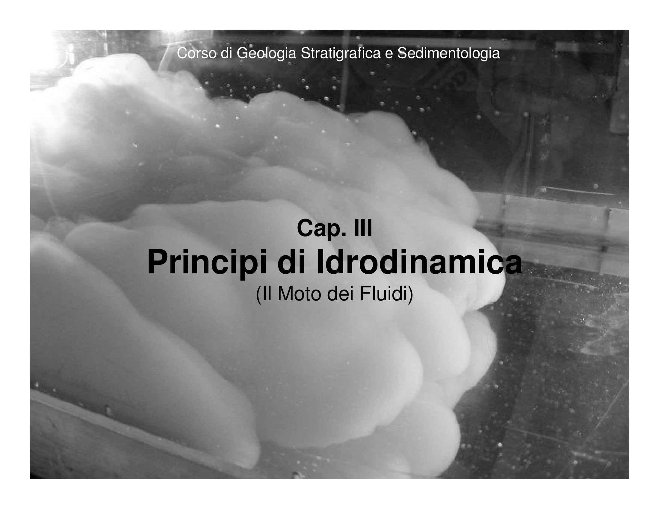 Principi di idrodinamica