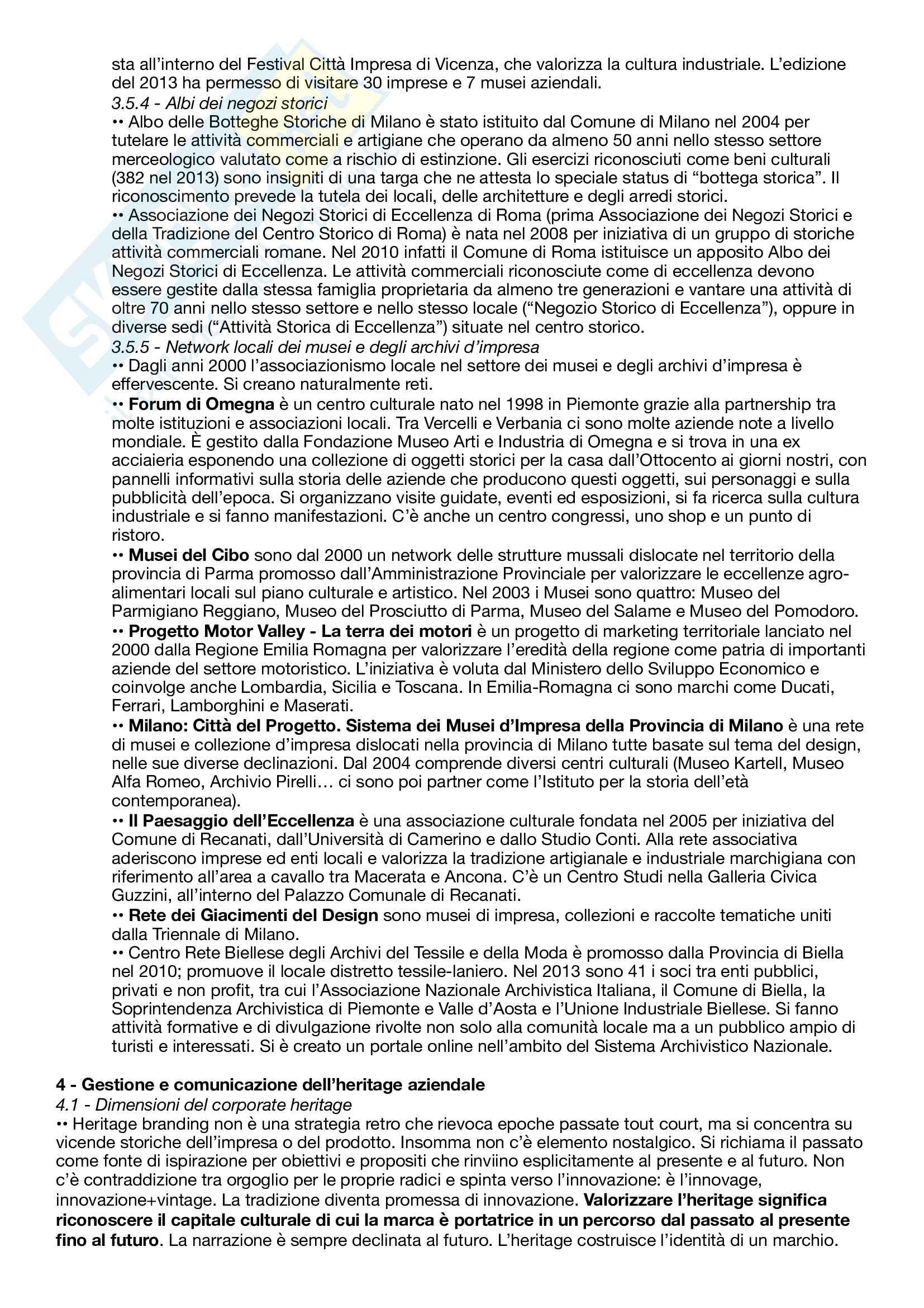 Riassunto esame Comunicazione per il management d'impresa, prof. Martino e Stancati, libro consigliato Dalle storie alla storia d'impresa - Memoria, comunicazione, heritage Pag. 11