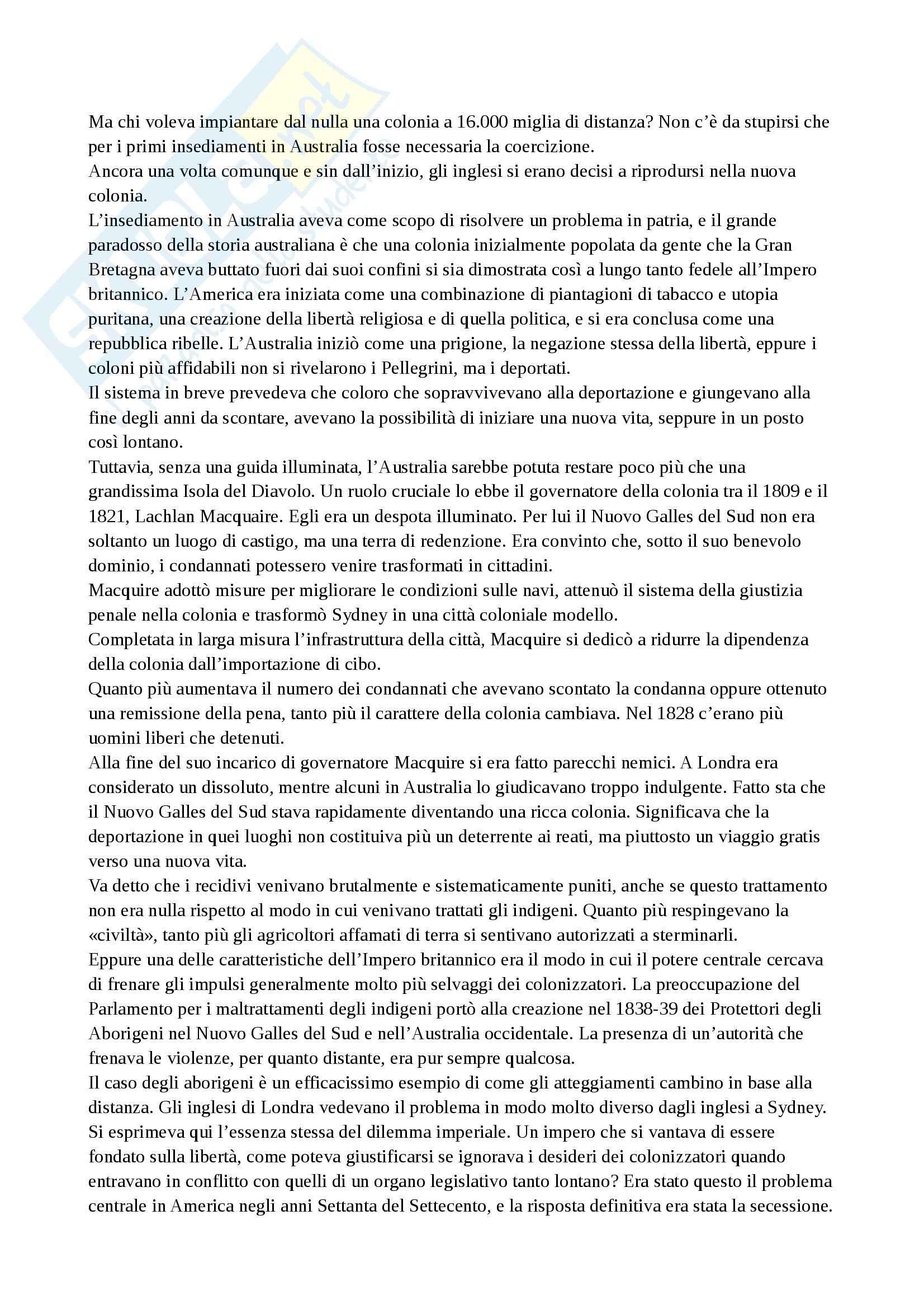 Impero, Storia del mondo contemporaneo Pag. 11