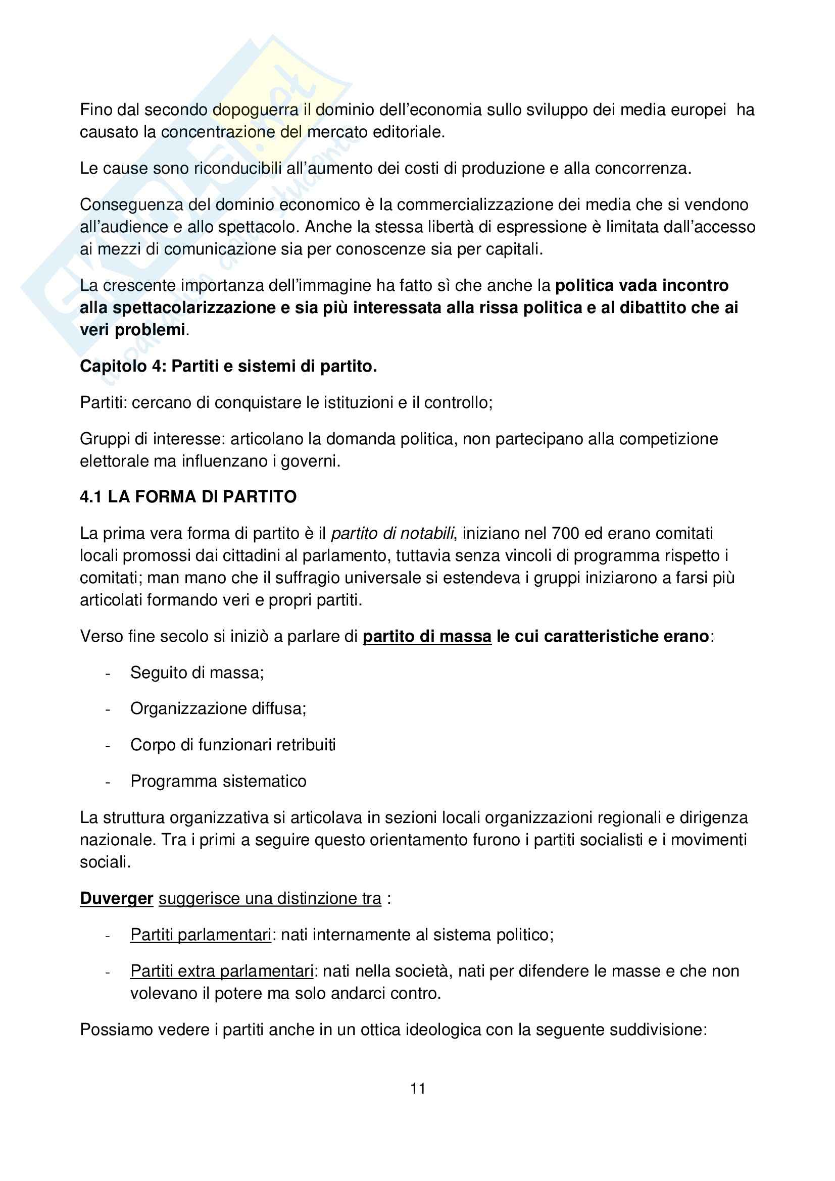 Riassunto esame Scienza Politica, prof. indefinito, libro consigliato Democrazia Reale, Riccamboni Pag. 11