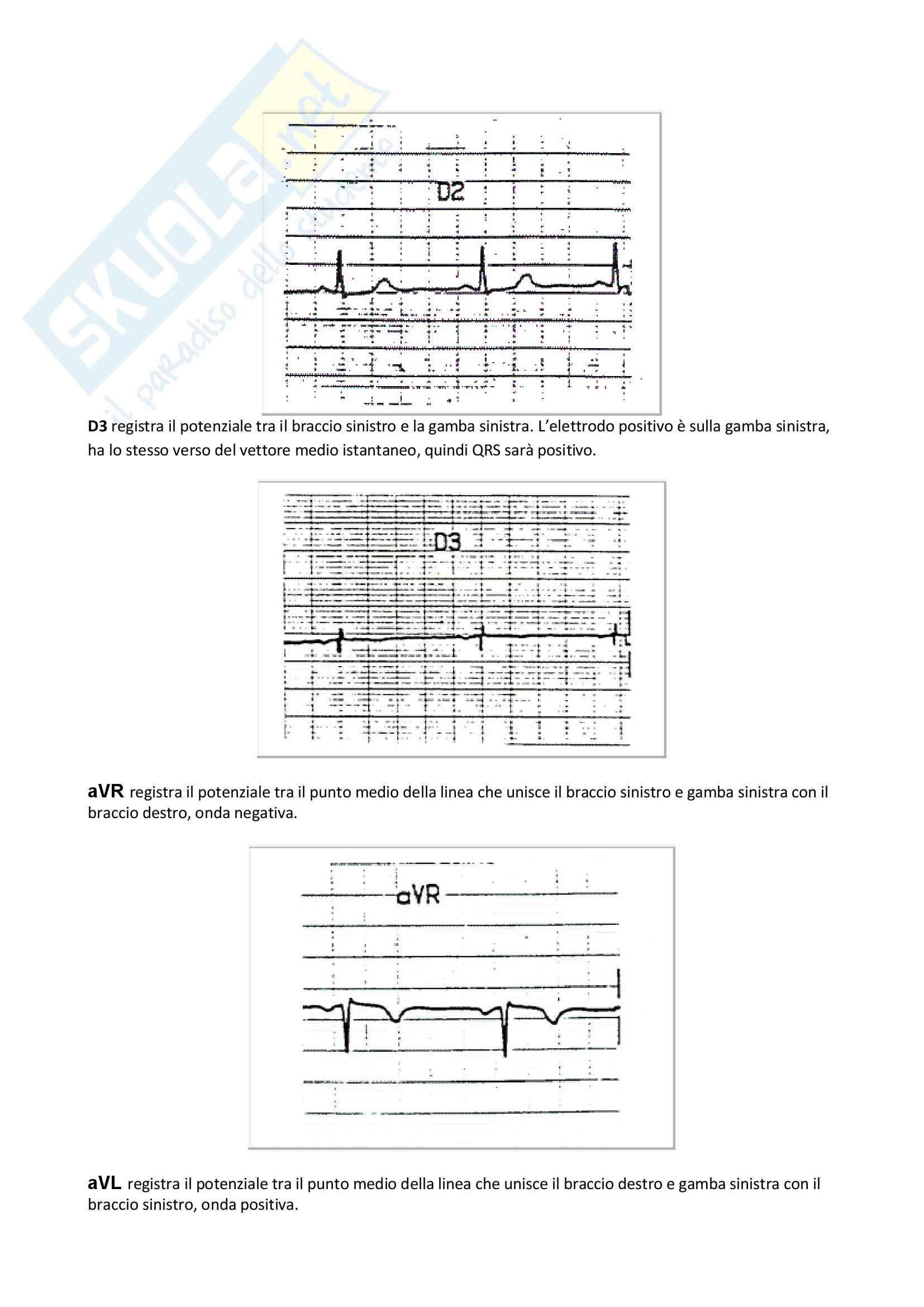 Fisiologia umana I - ECG Pag. 2