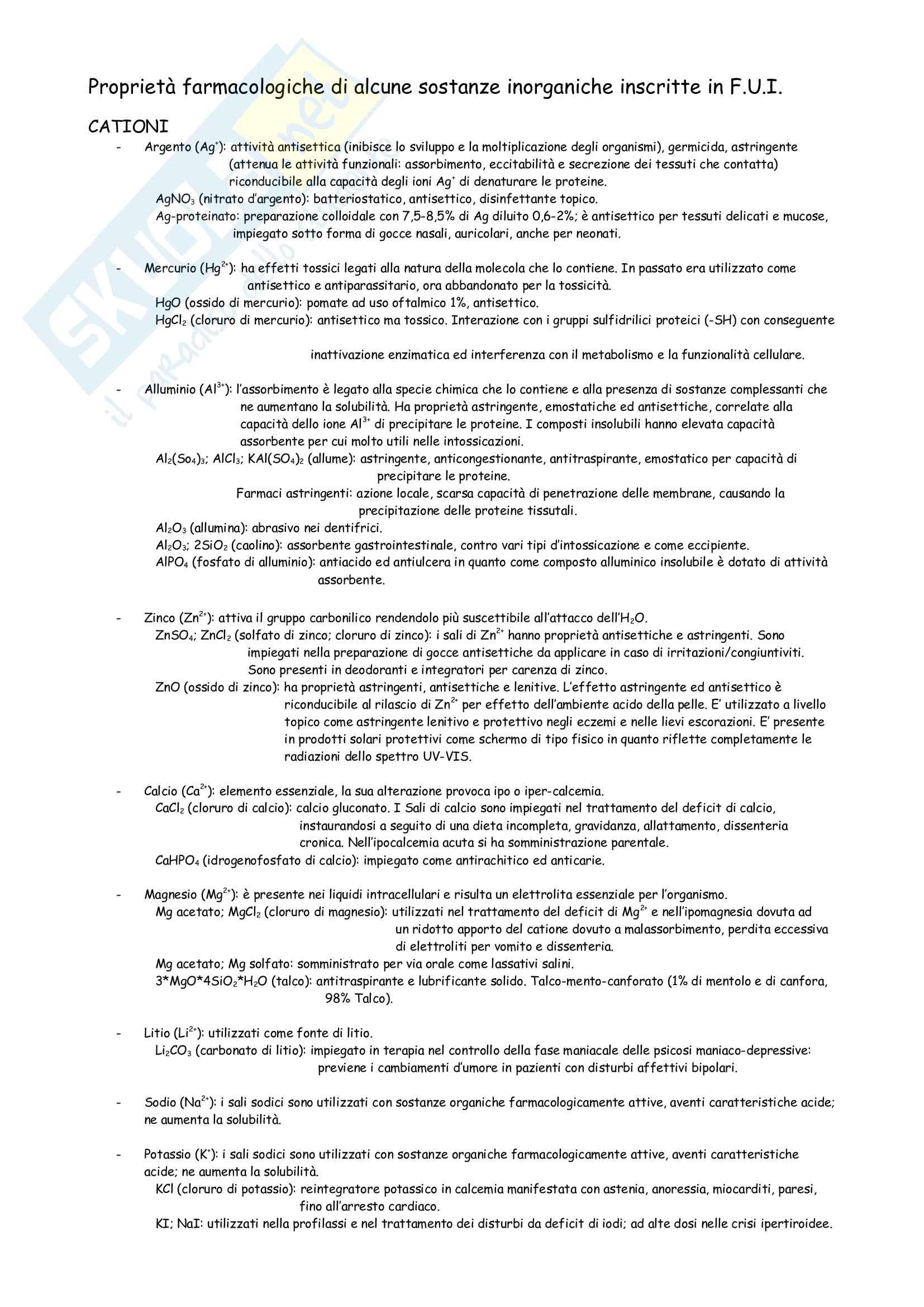 Appunti Lab. Analisi Qualitativa Pag. 2