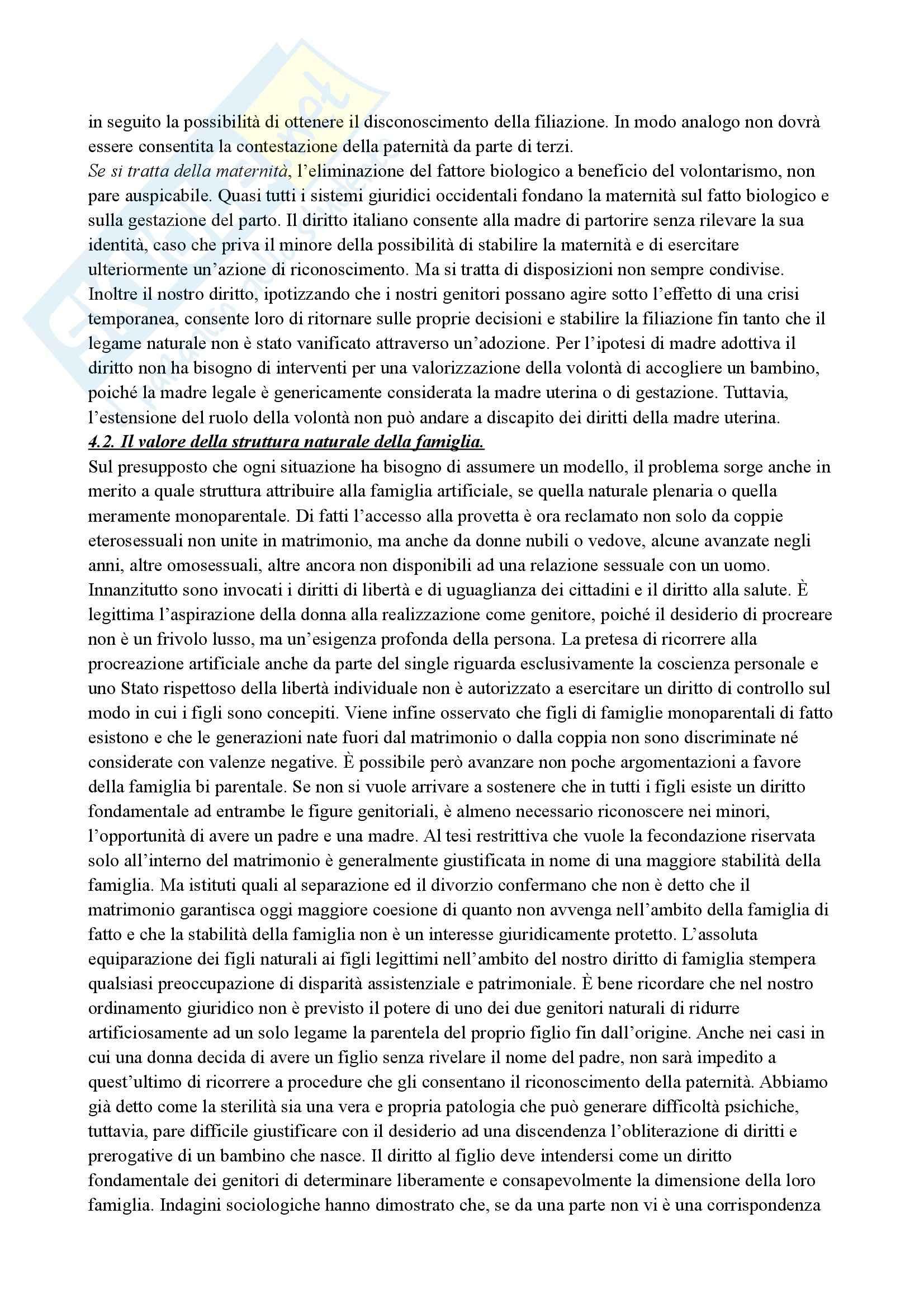Riassunto esame Filosofia del Diritto, prof. Neri, libro consigliato Verso un Antidestino, D'Avack Pag. 21