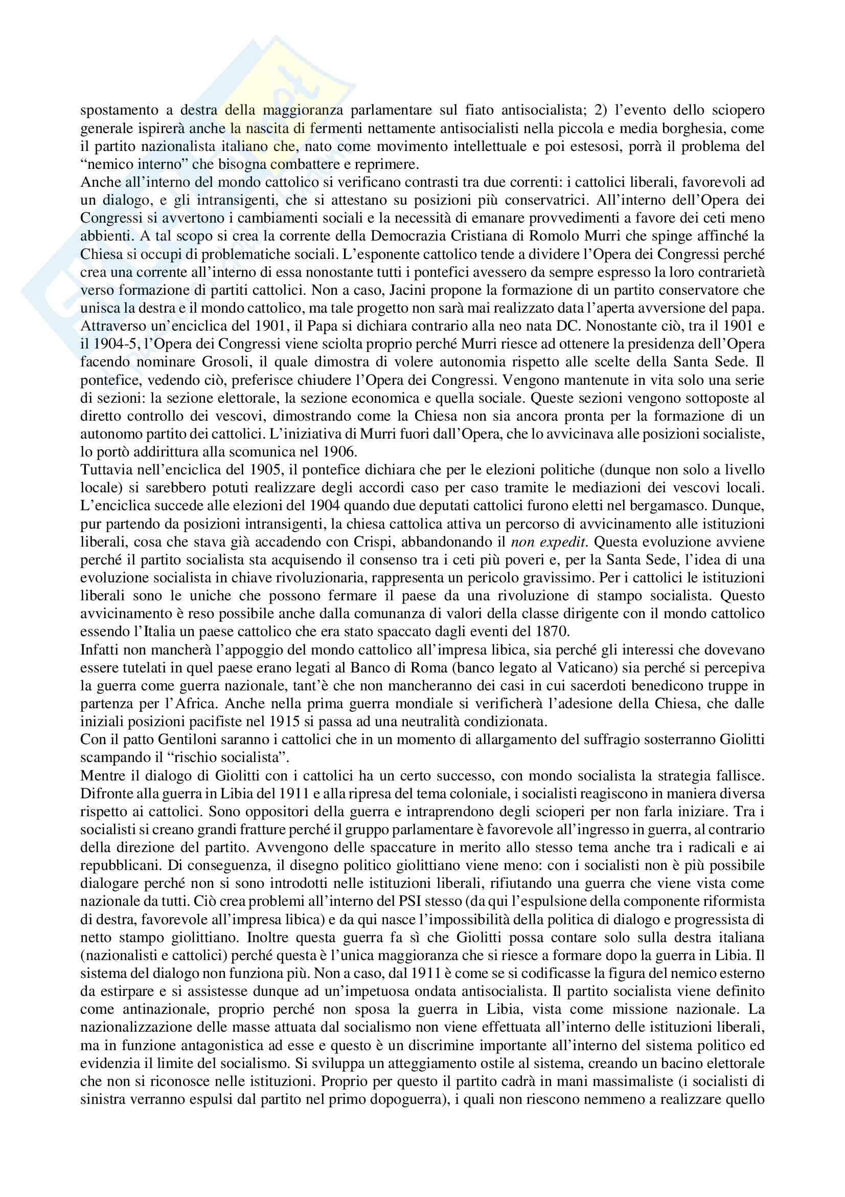 Lezioni, Teoria e storia dei movimenti e dei partiti politici Pag. 21