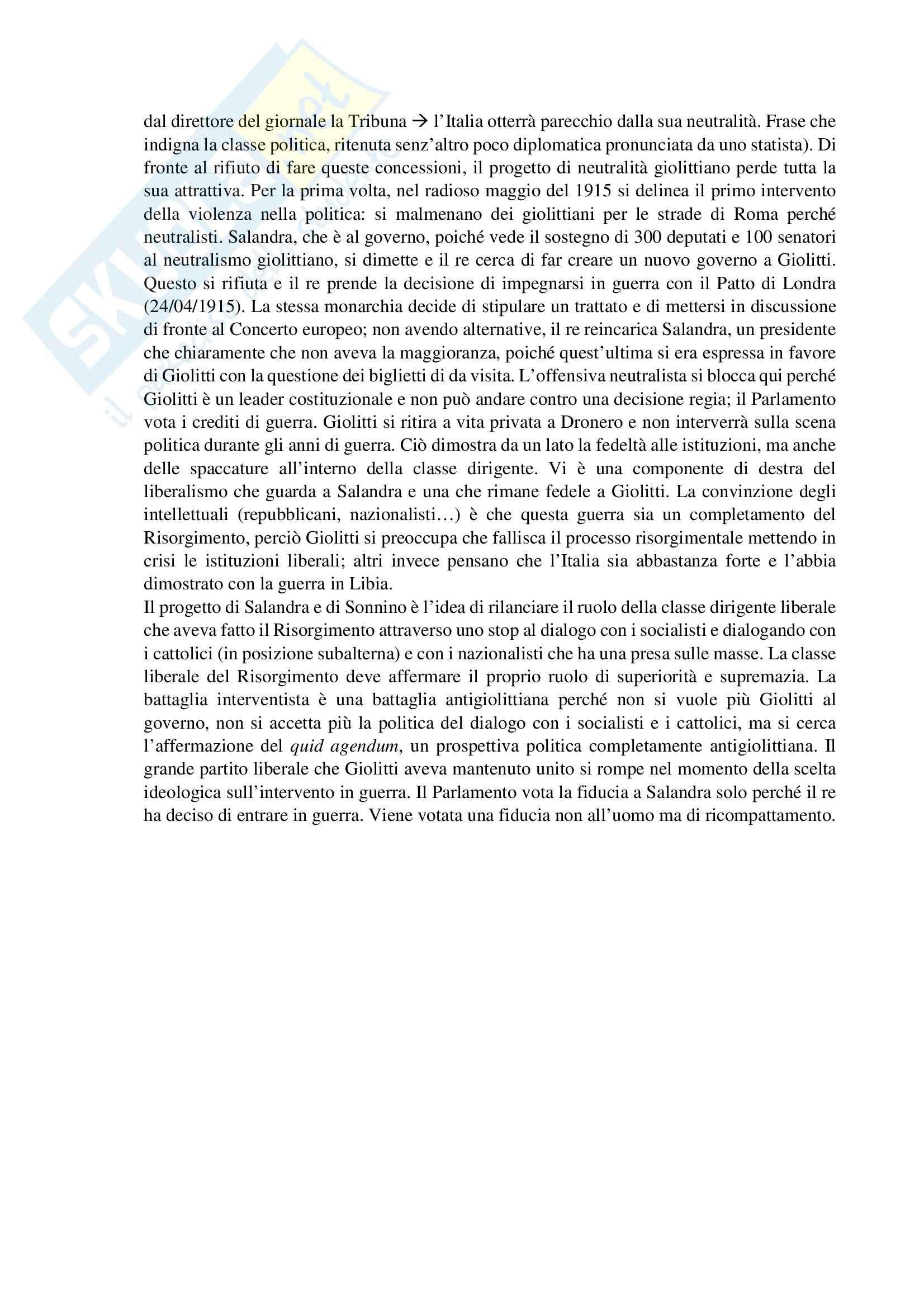Lezioni, Teoria e storia dei movimenti e dei partiti politici Pag. 26