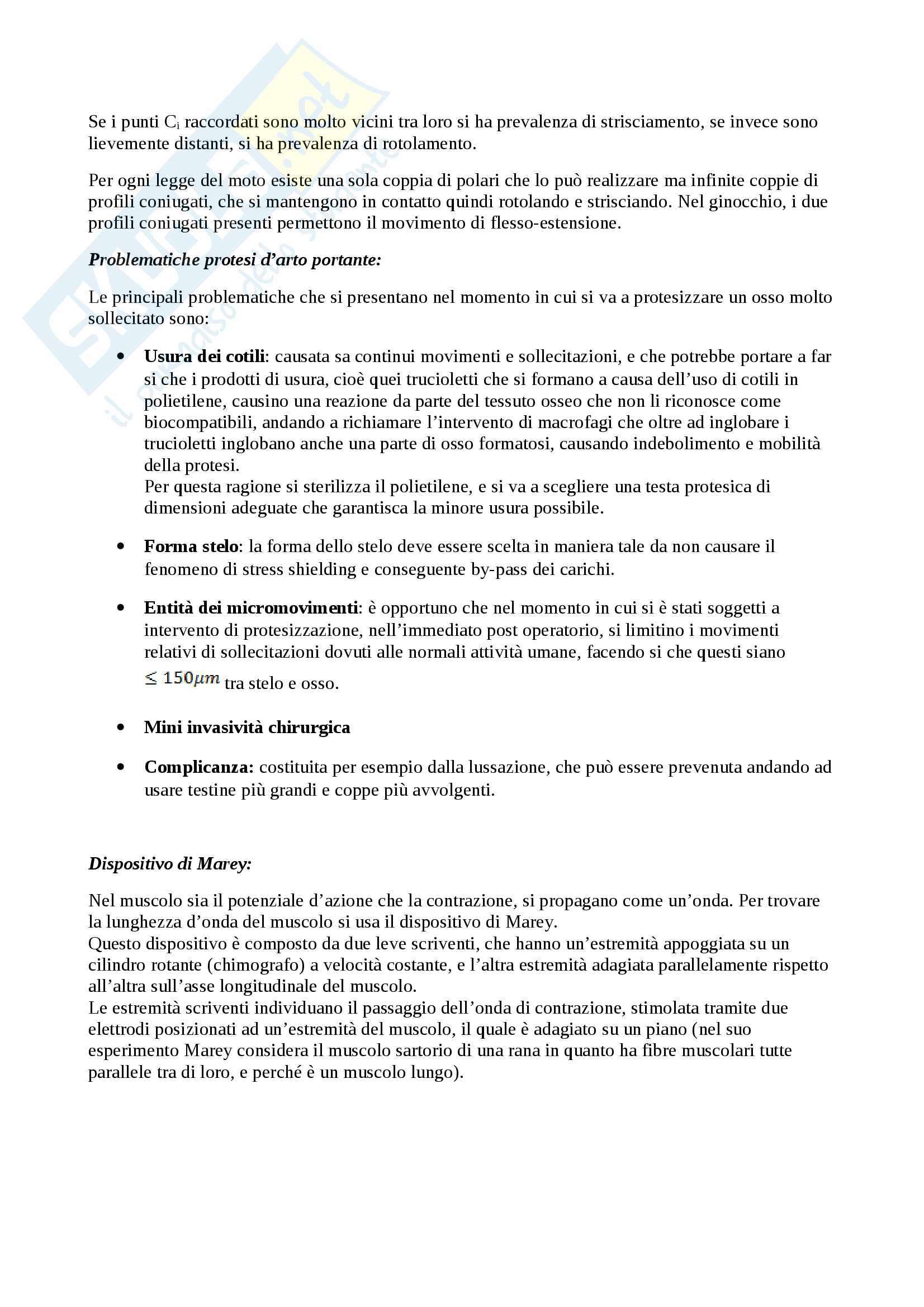 Domande bioingegneria meccanica Pag. 16