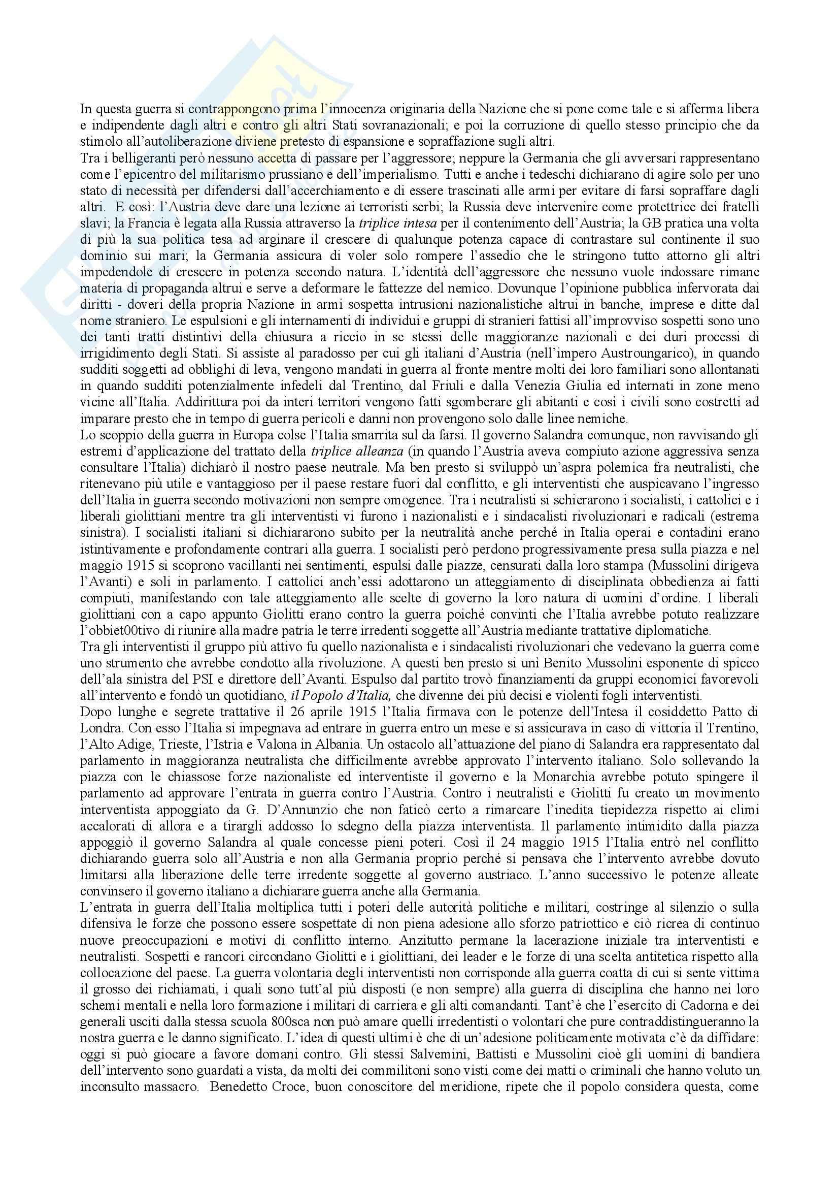 Storia Contemporanea, Donzelli - Riassunto Pag. 16