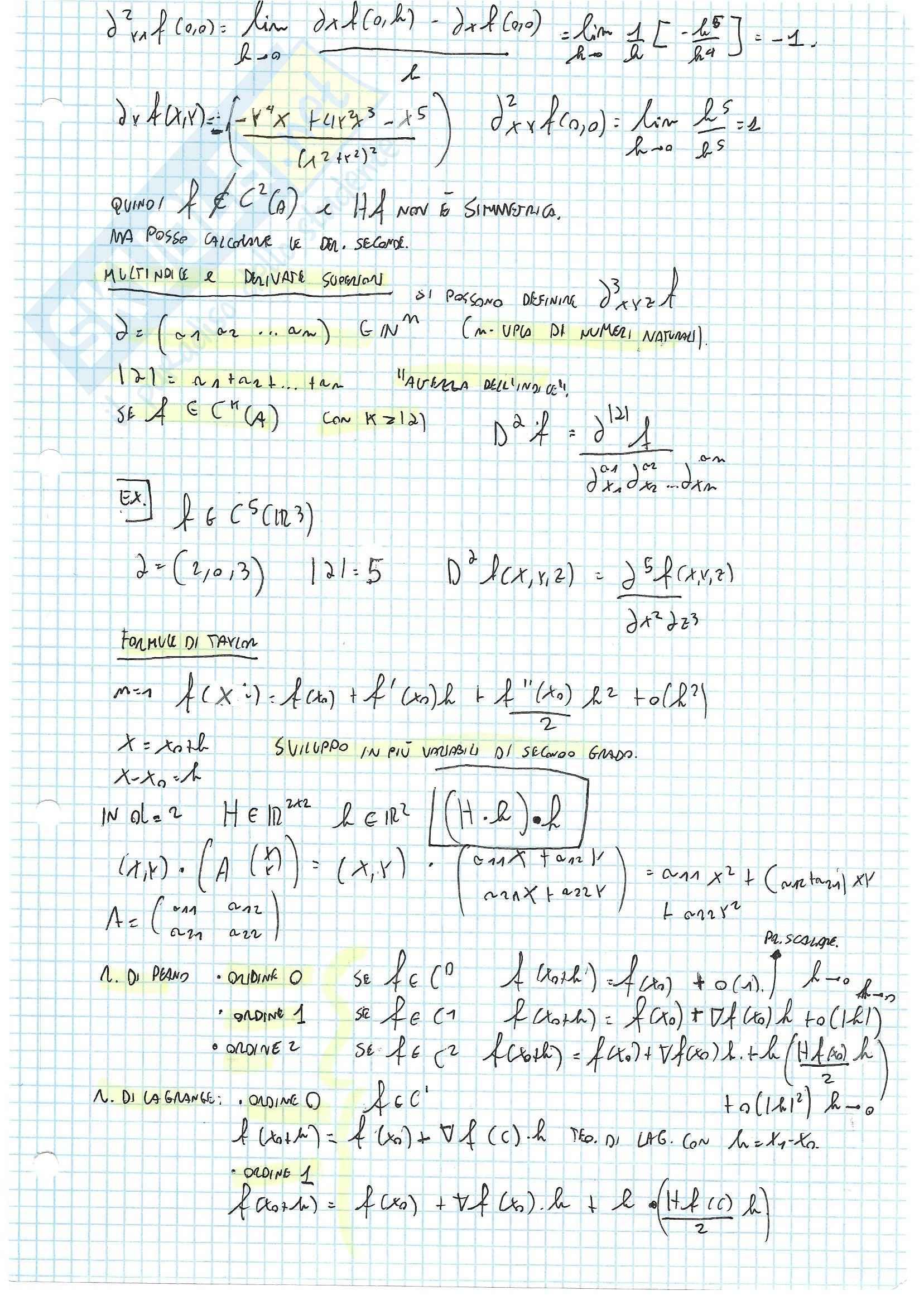 Appunti ed Esercizi Analisi 2 Pag. 31